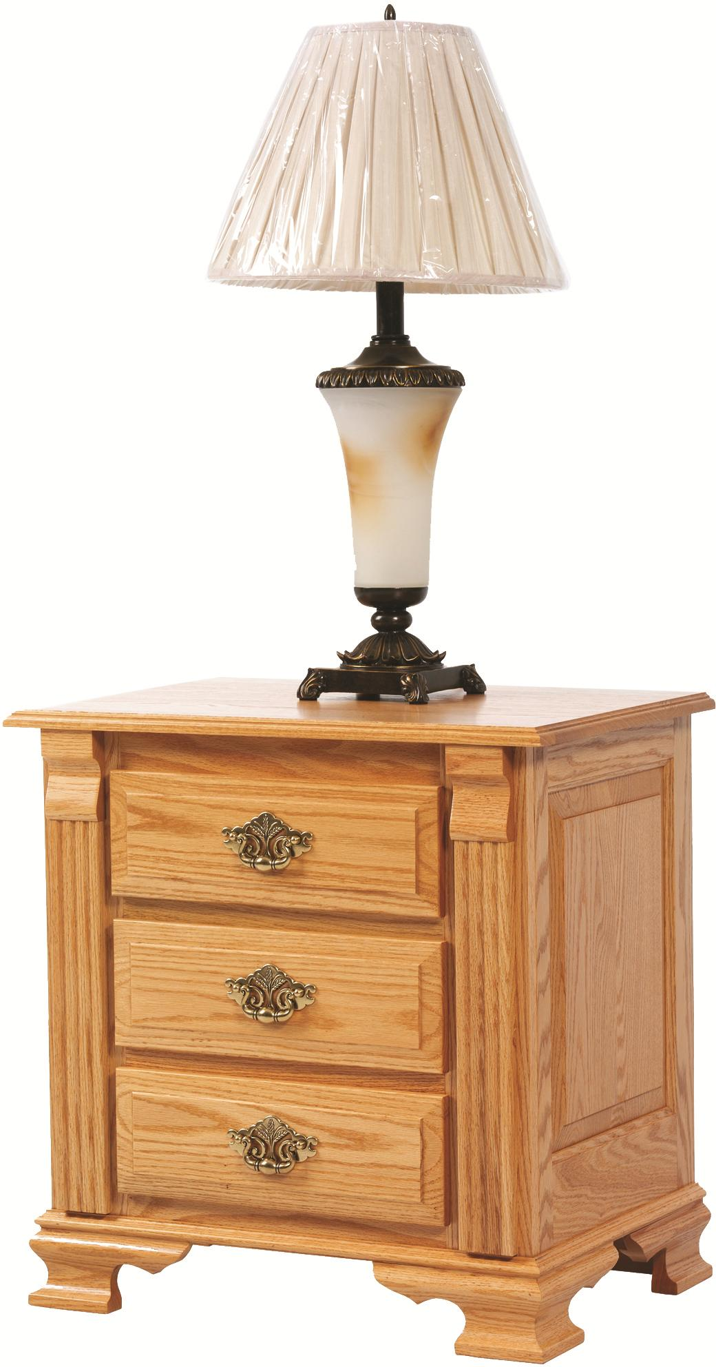 Journeys End Nightstand by Millcraft at Saugerties Furniture Mart