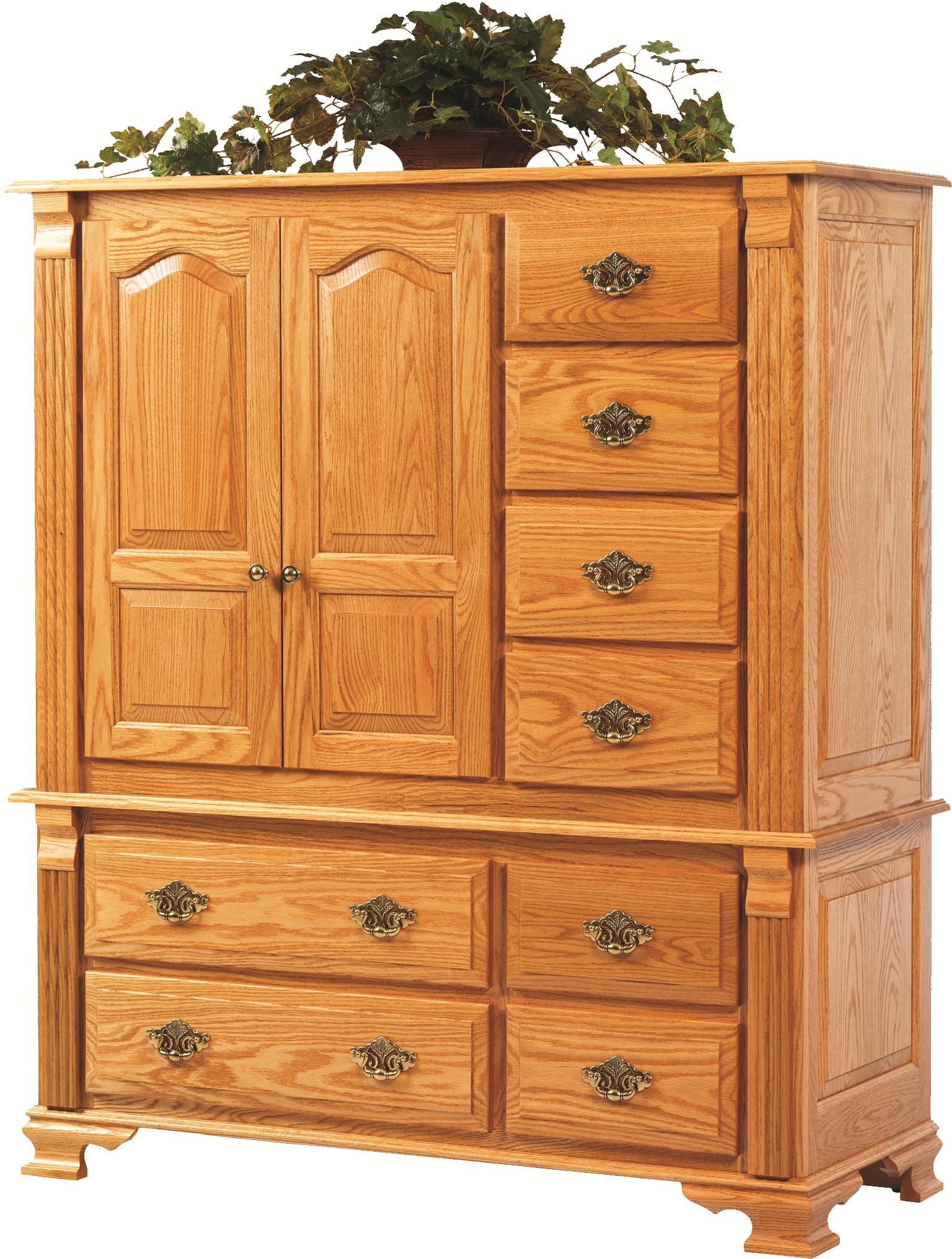 Journeys End Grande Chest by Millcraft at Saugerties Furniture Mart