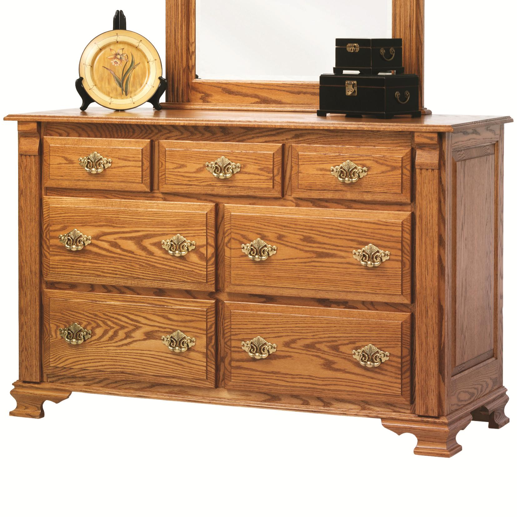 Journeys End Dresser by Millcraft at Saugerties Furniture Mart