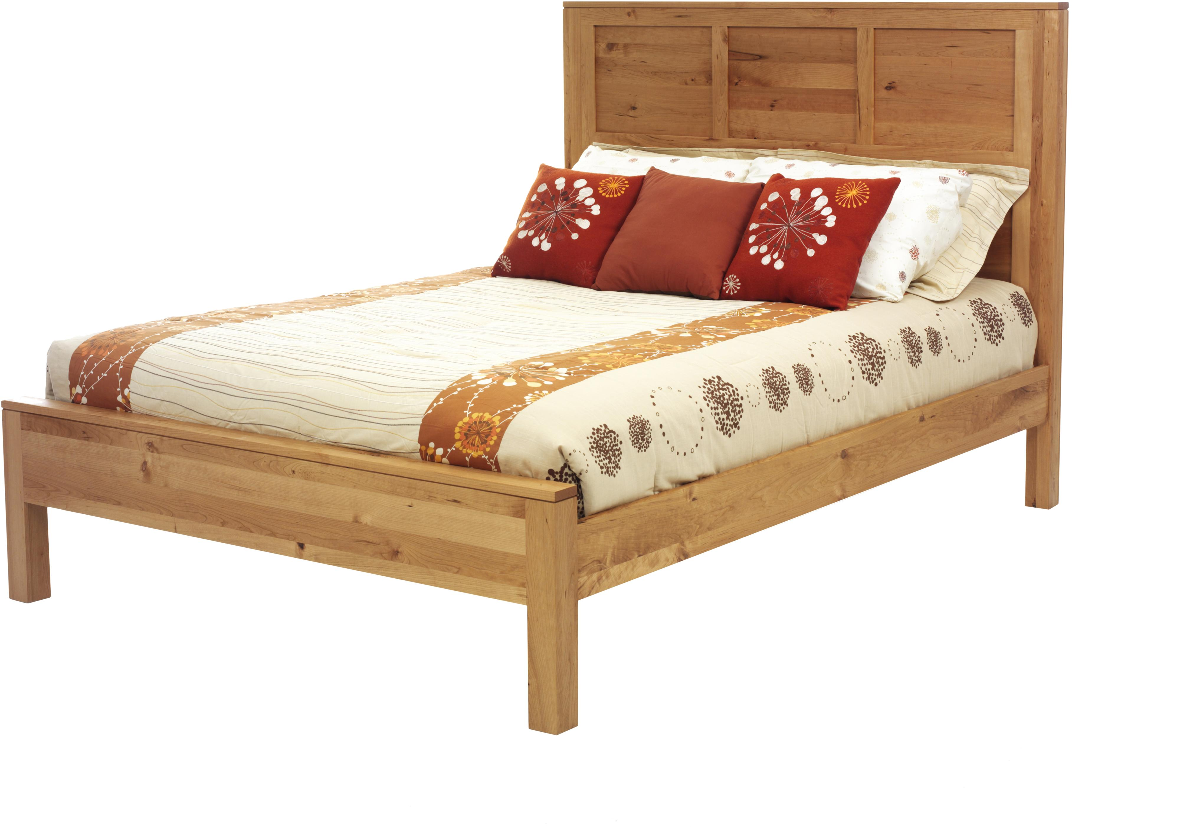 Lynnwood Queen Panel Bed by Millcraft at Saugerties Furniture Mart