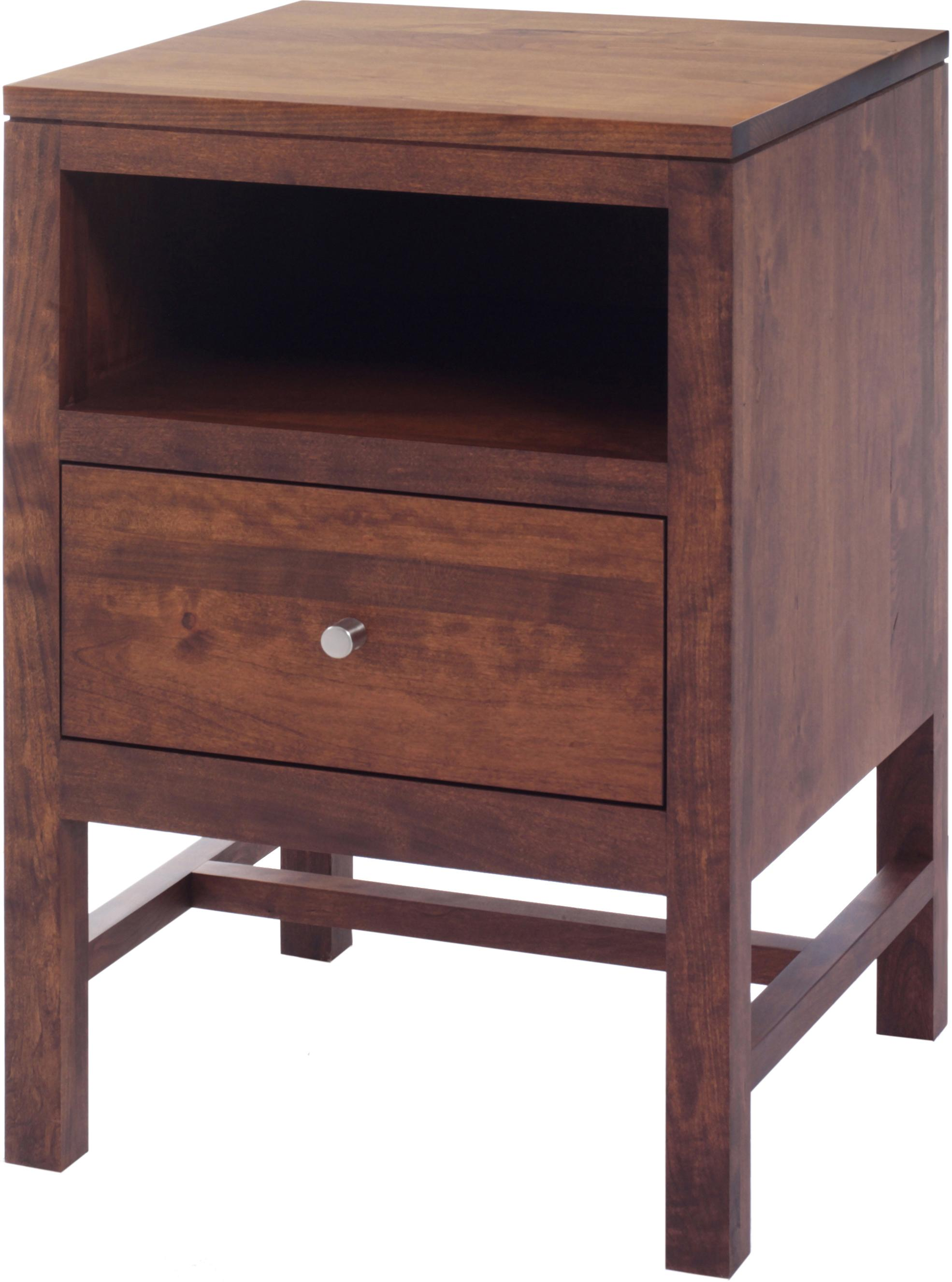 Lynnwood Nightstand by Millcraft at Saugerties Furniture Mart