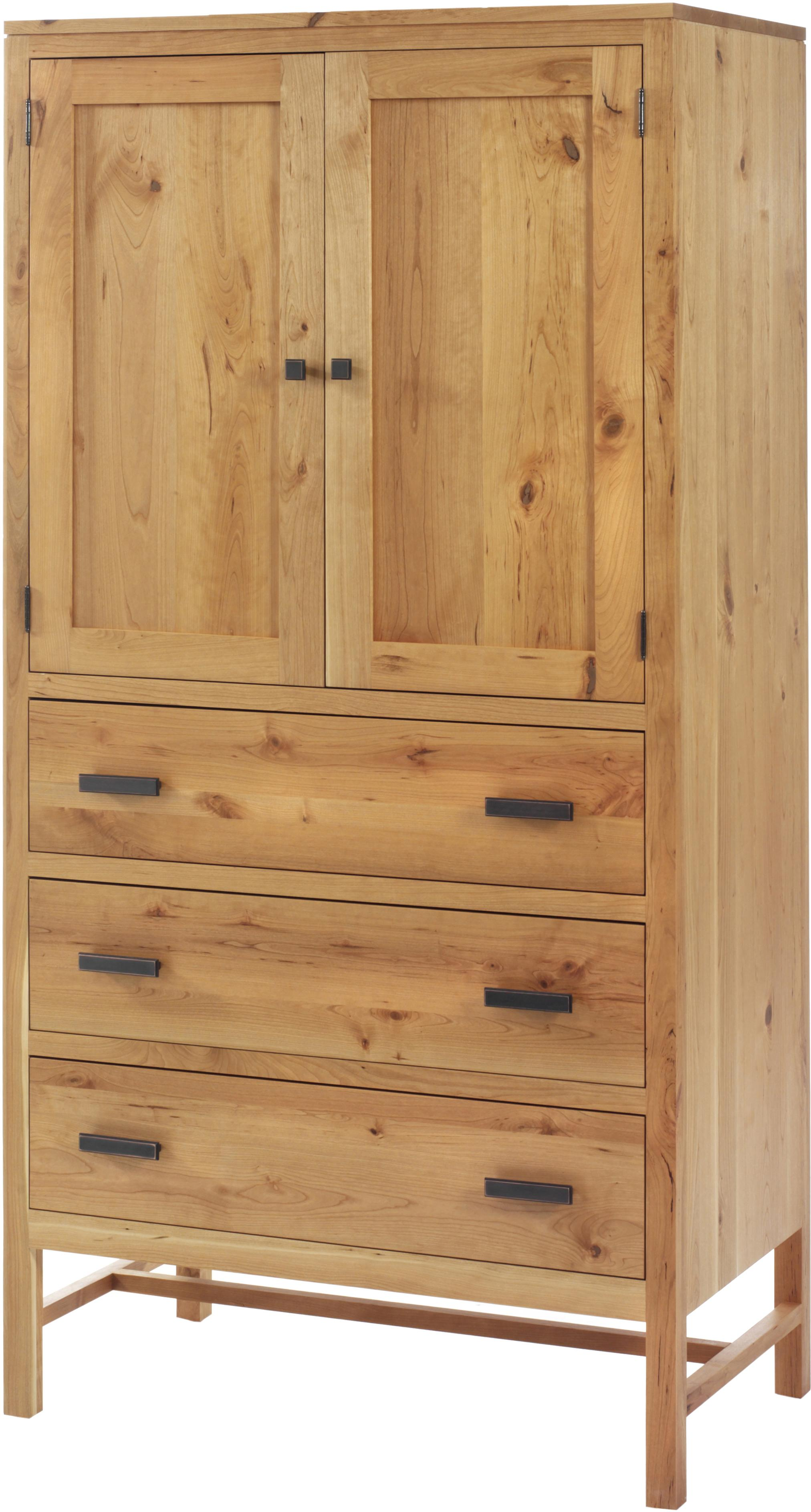Lynnwood Armoire by Millcraft at Saugerties Furniture Mart