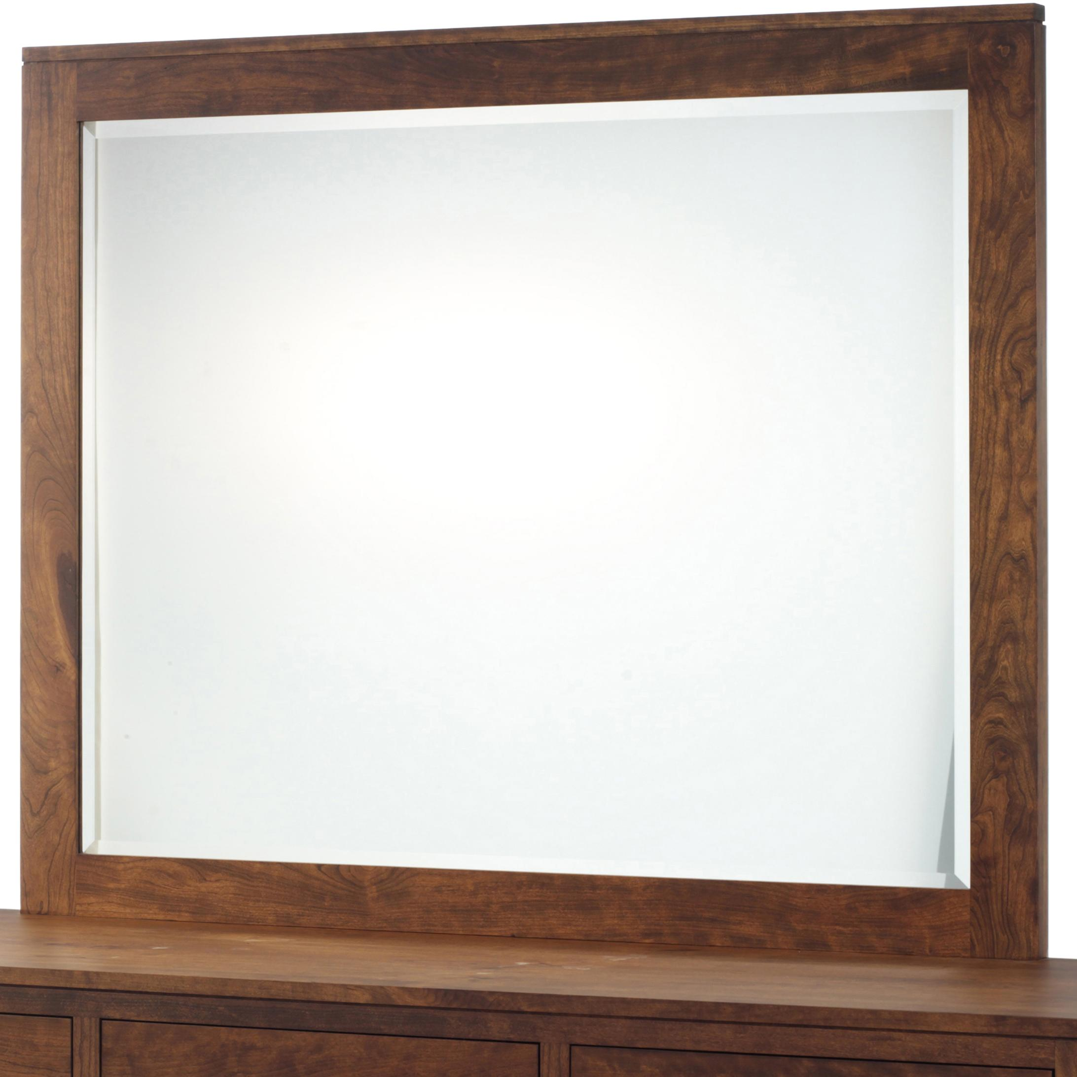 Lynnwood Beveled Mirror by Millcraft at Virginia Furniture Market