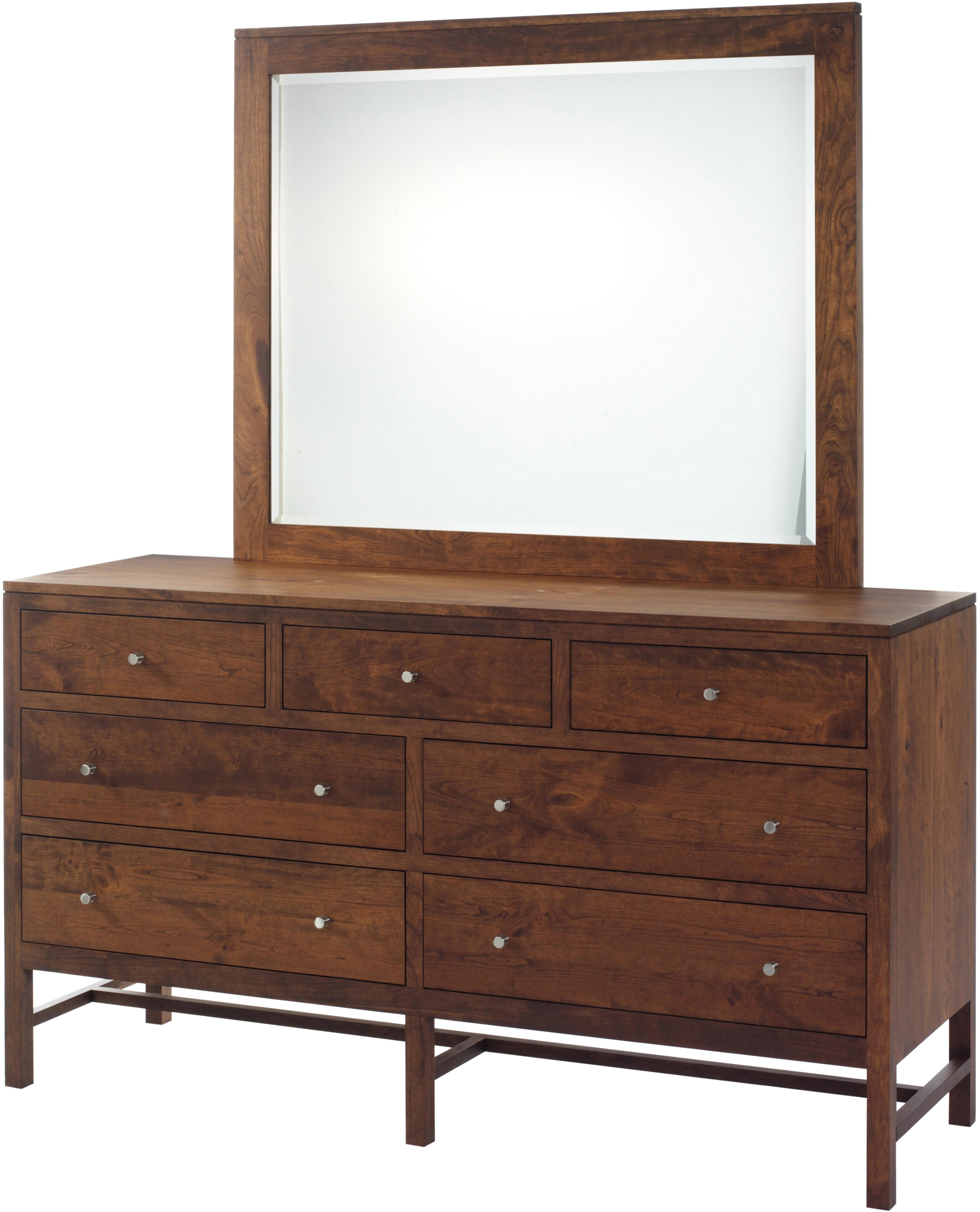 Lynnwood Dresser and Mirror Set by Millcraft at Saugerties Furniture Mart