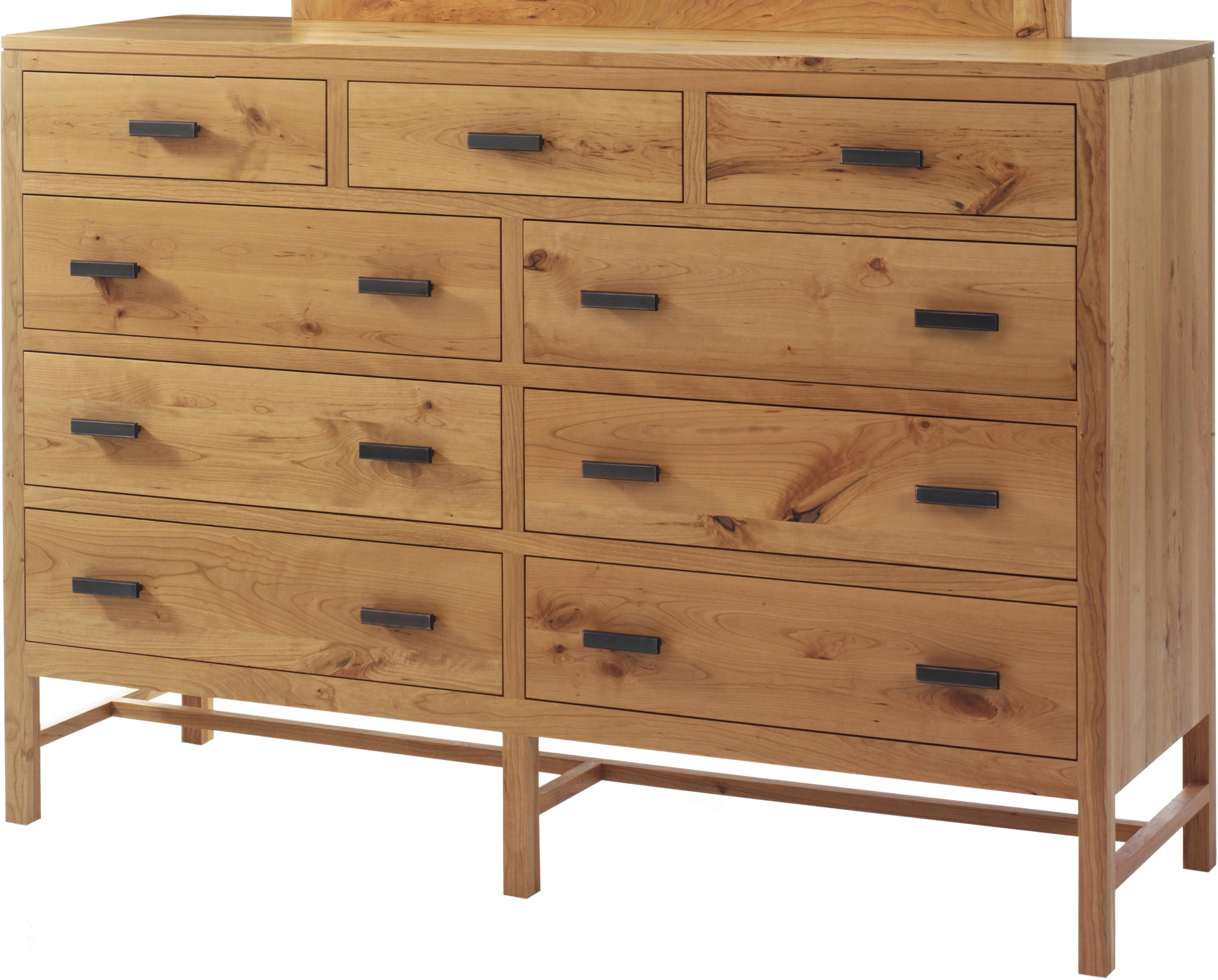 Lynnwood High Dresser by Millcraft at Saugerties Furniture Mart