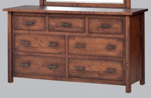 Mountain Lodge Low Dresser by Millcraft at Virginia Furniture Market