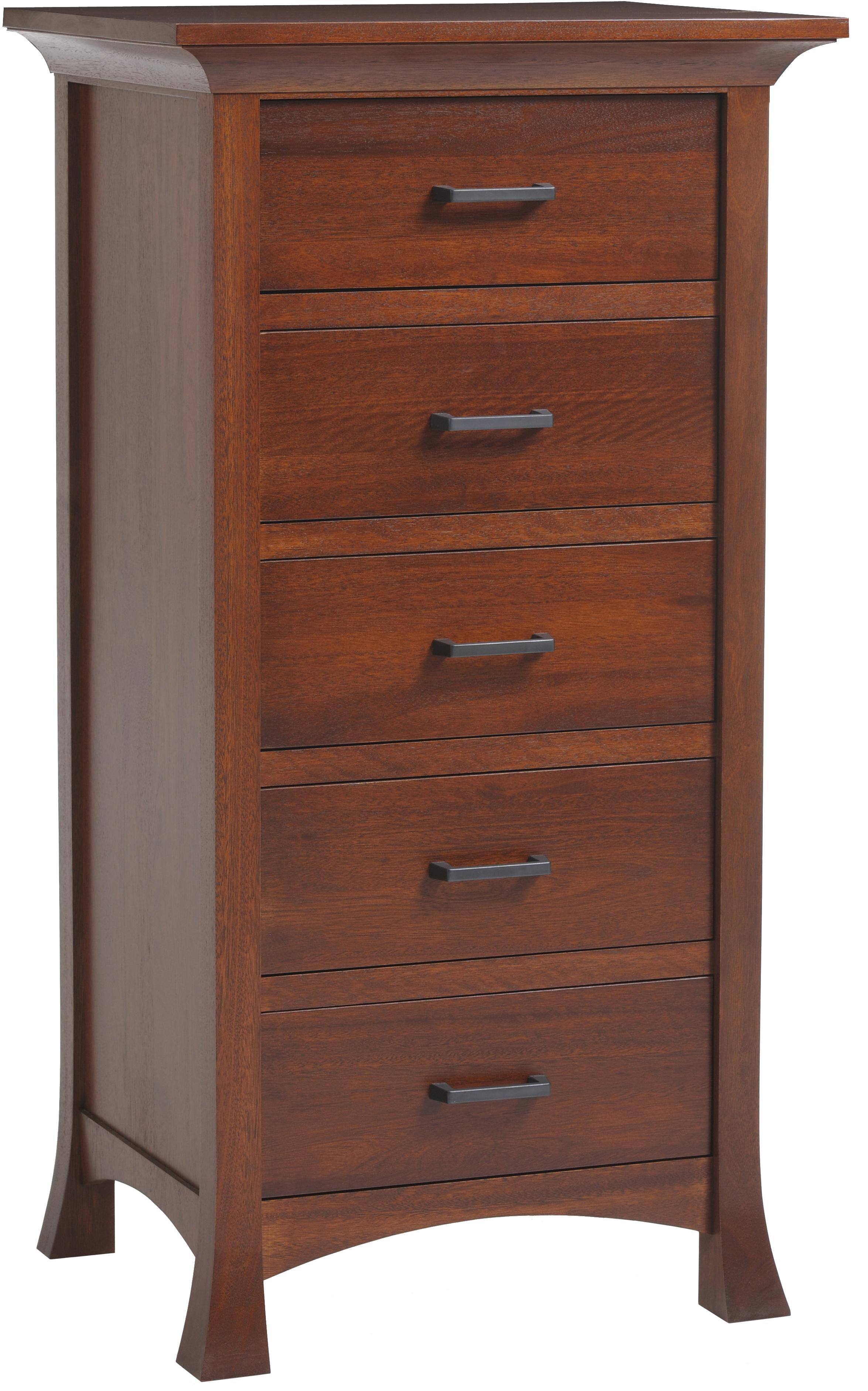 Oasis Lingerie Chest by Millcraft at Saugerties Furniture Mart