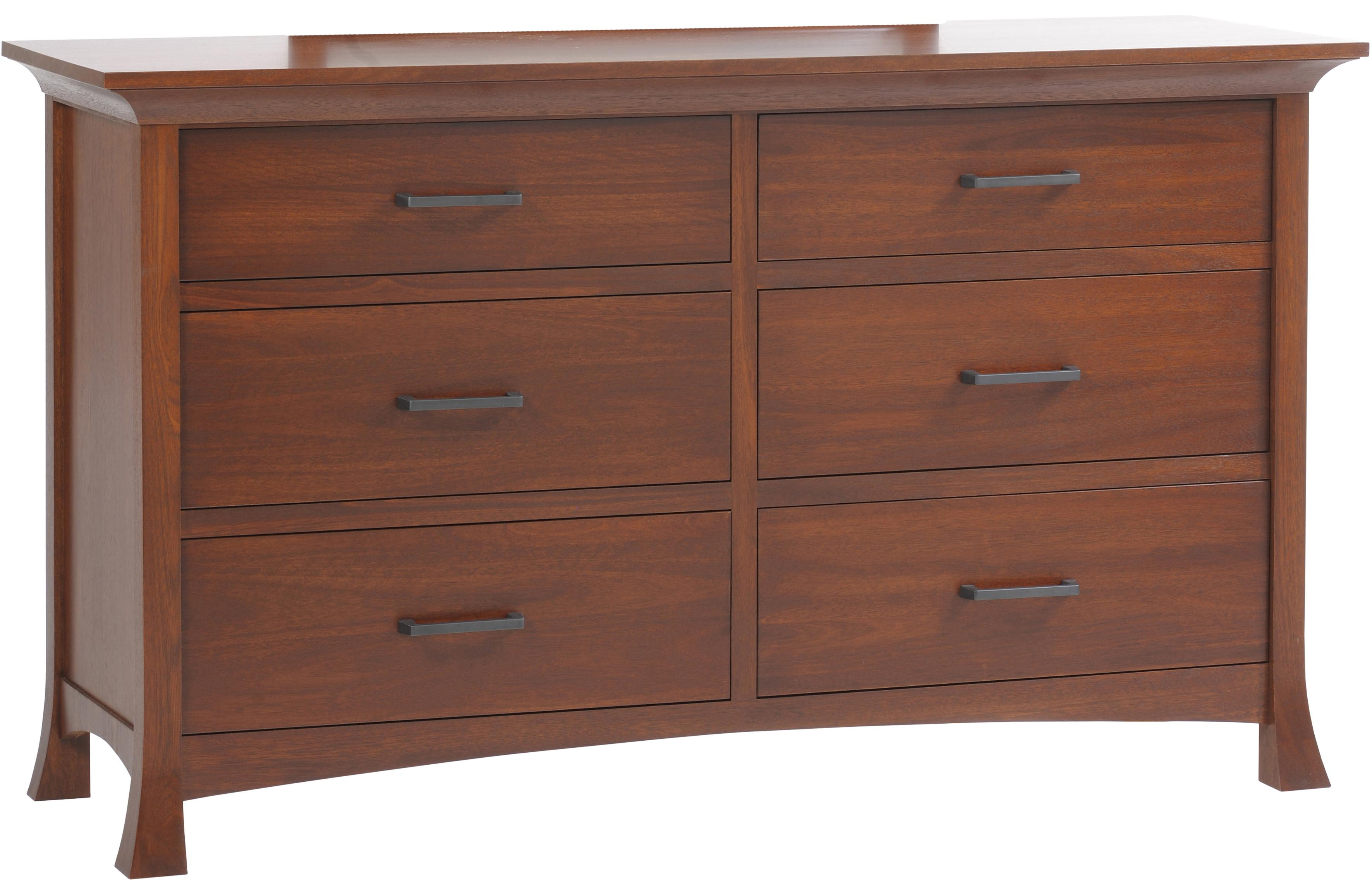 Oasis Low Dresser by Millcraft at Saugerties Furniture Mart