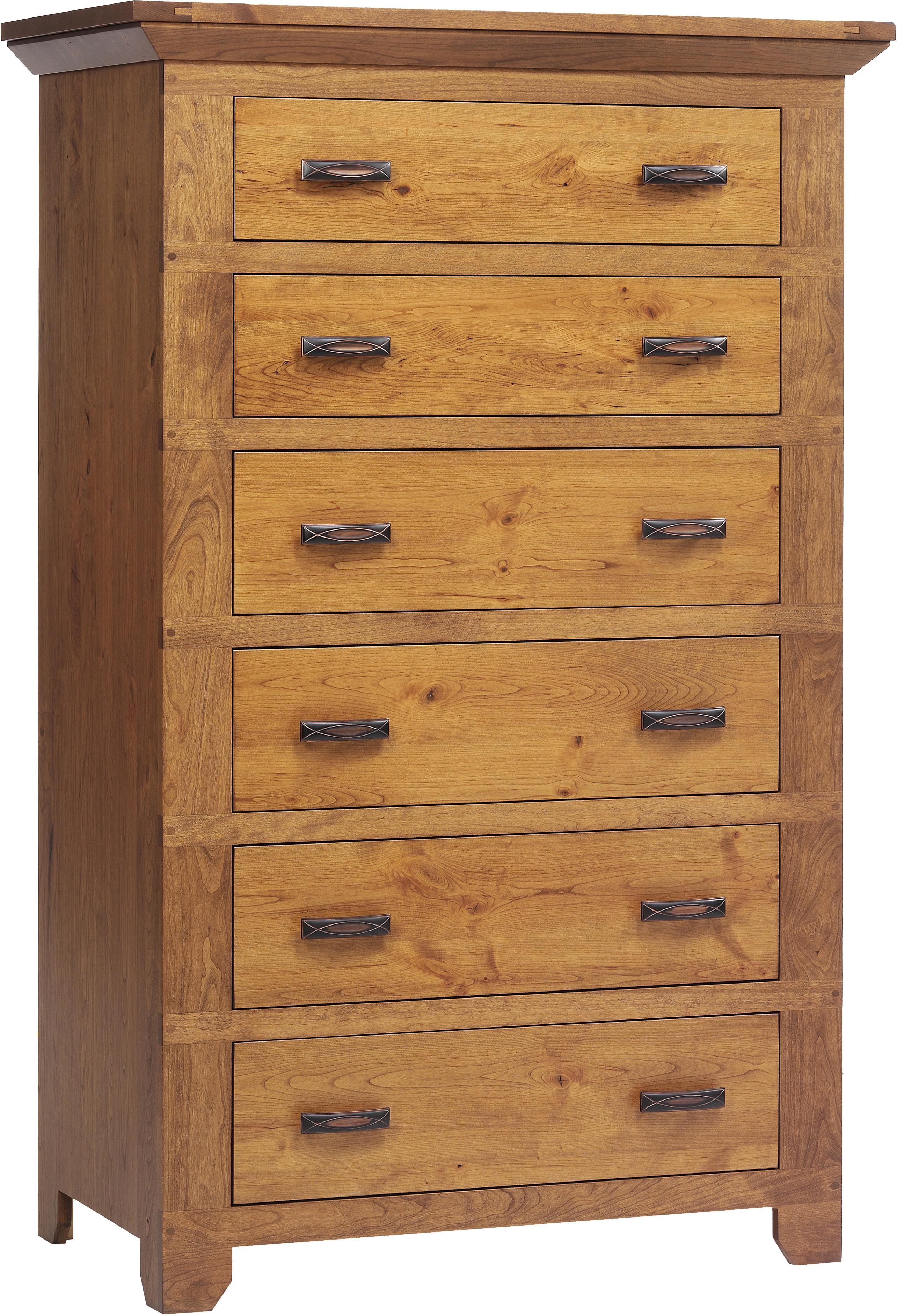 Redmond Wellington Chest of Drawers by Millcraft at Saugerties Furniture Mart