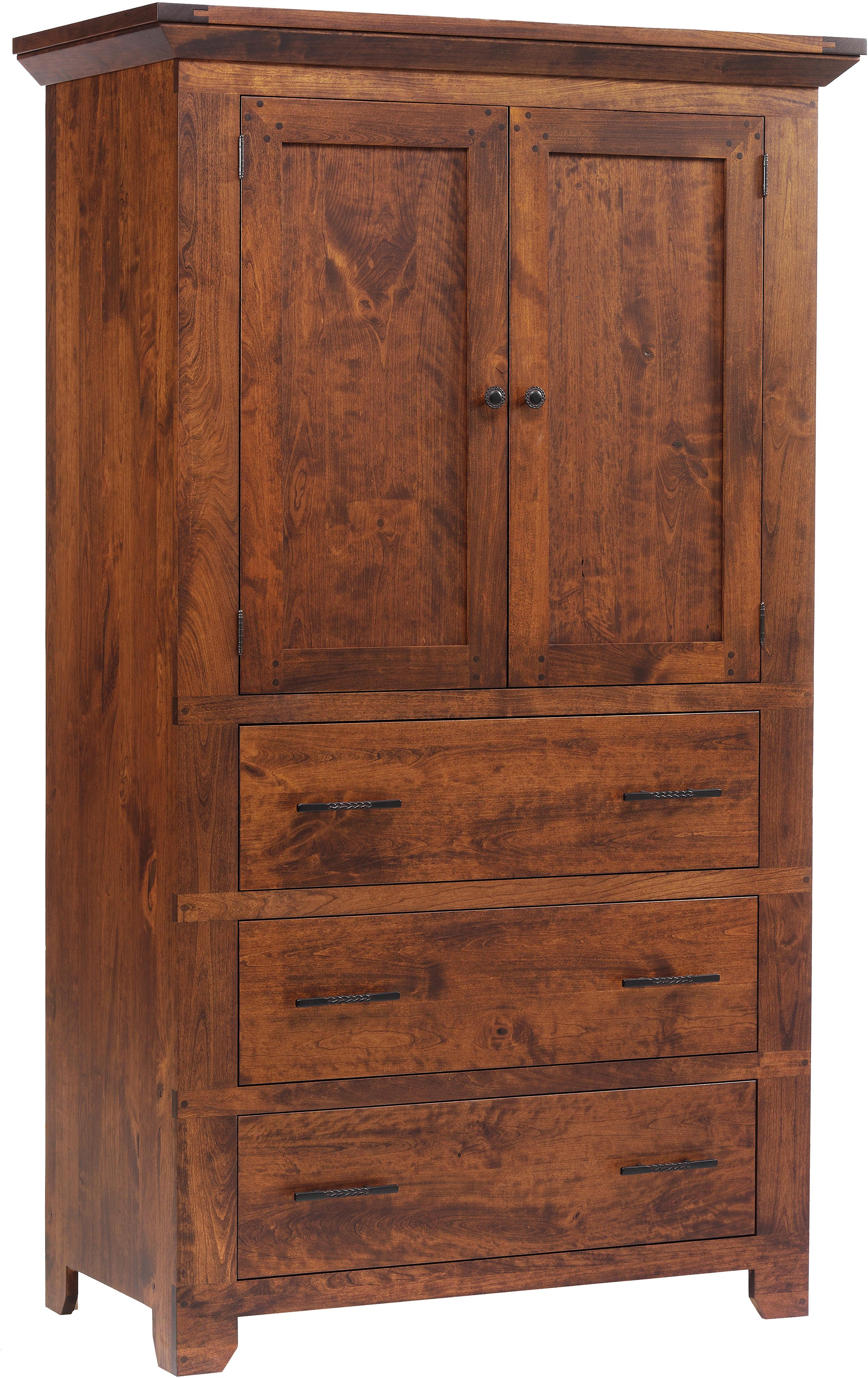 Redmond Wellington Armoire by Millcraft at Saugerties Furniture Mart