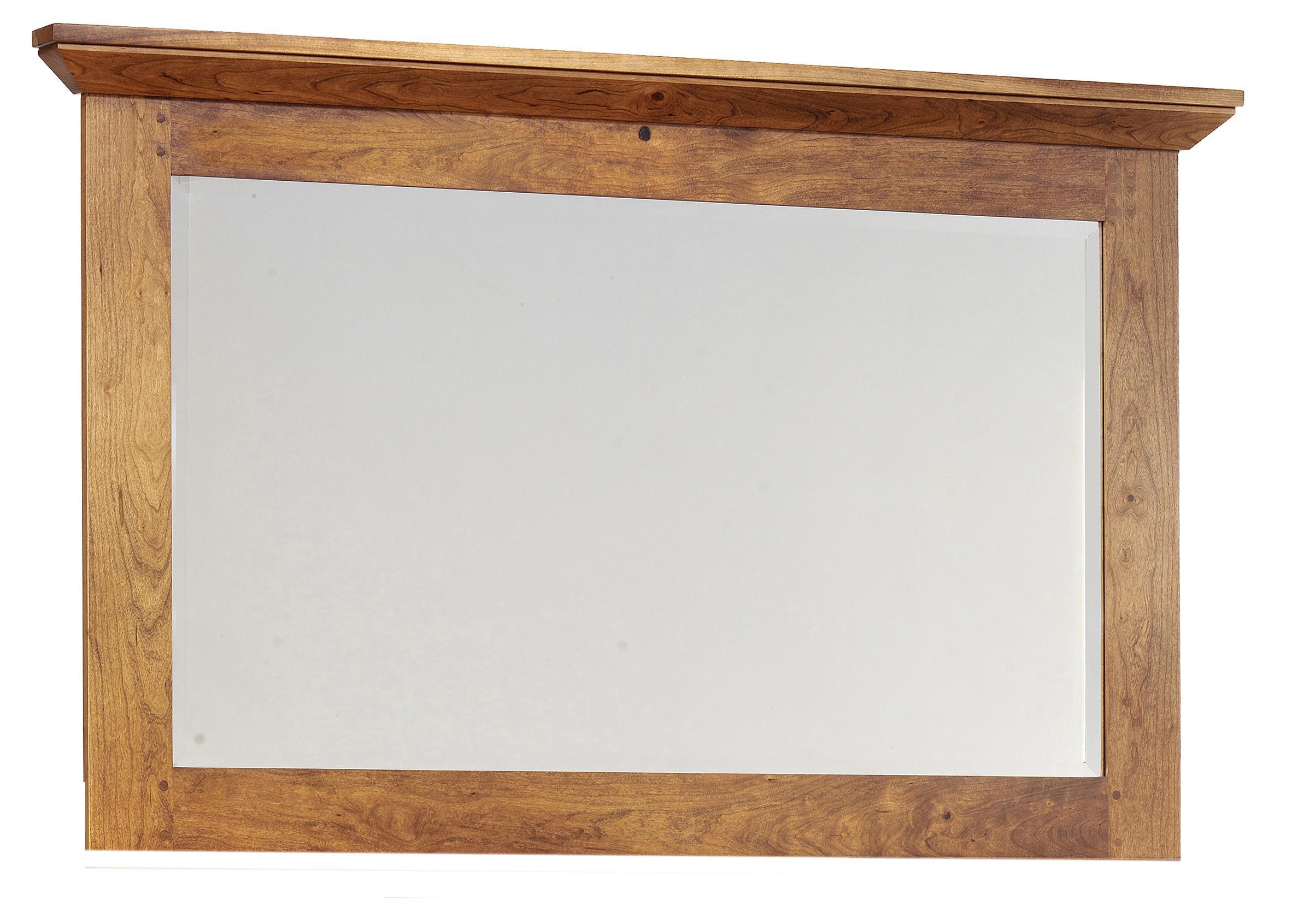 Redmond Wellington Dresser Mirror by Millcraft at Saugerties Furniture Mart