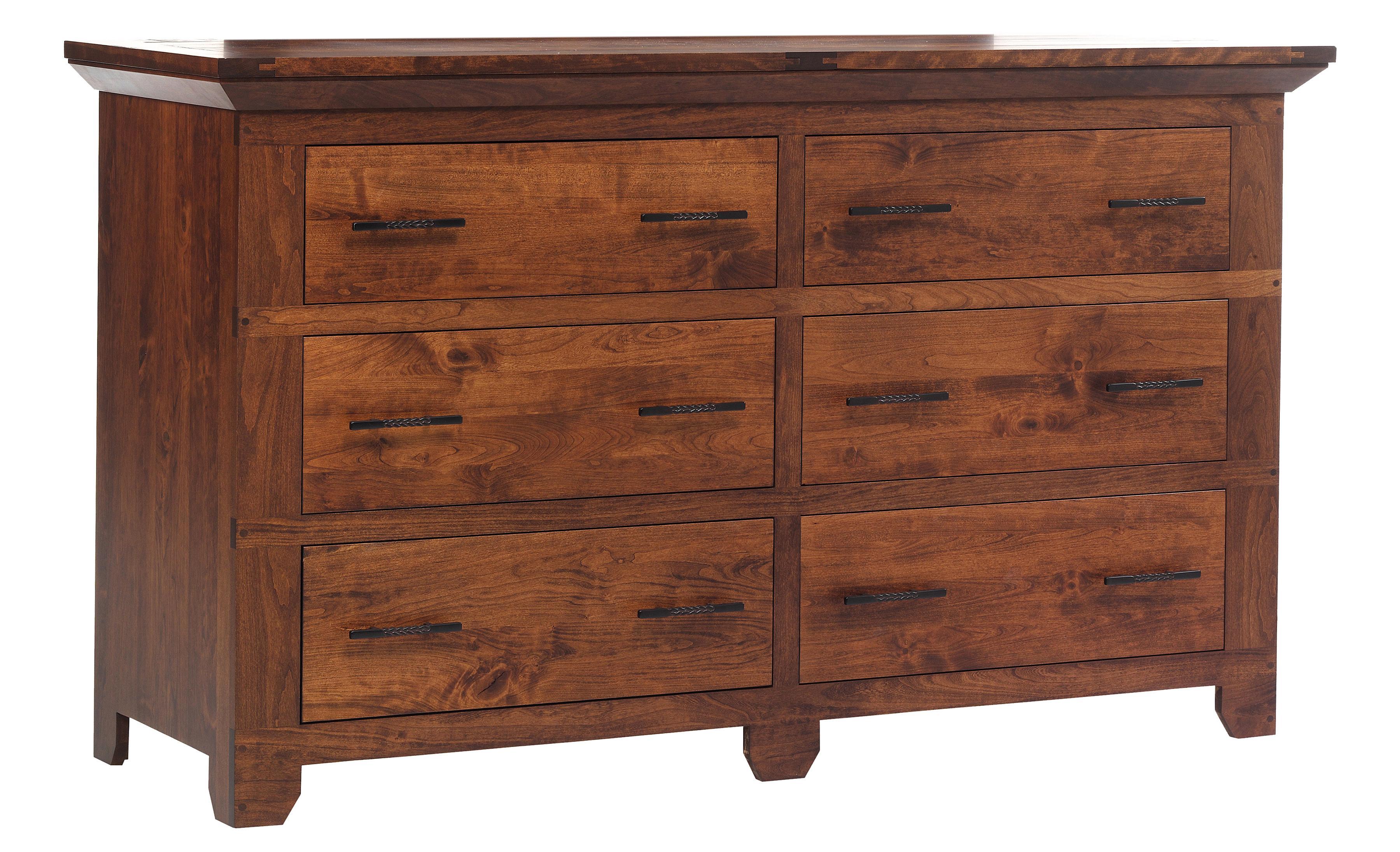 Redmond Wellington Dresser by Millcraft at Saugerties Furniture Mart