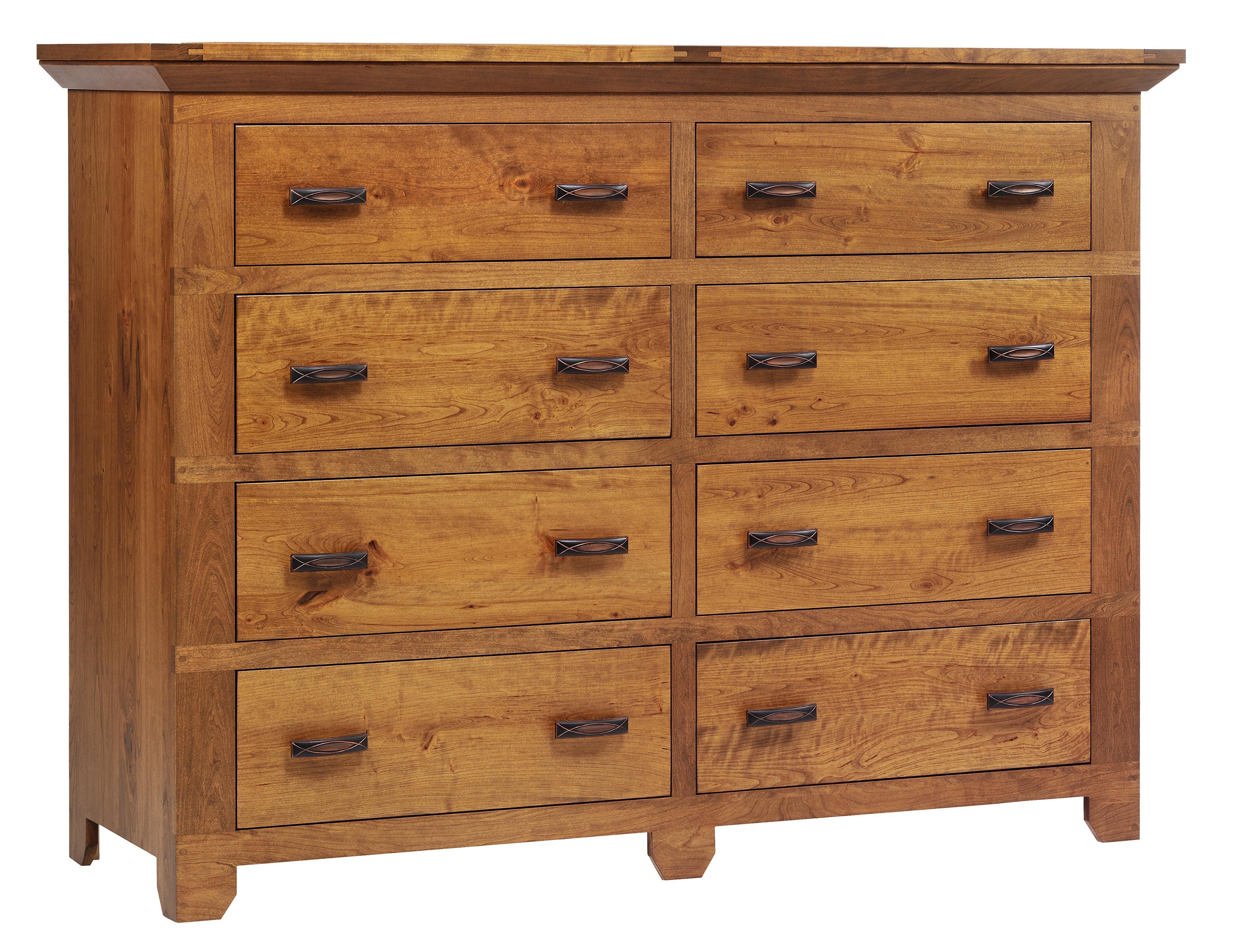 Redmond Wellington High Dresser by Millcraft at Saugerties Furniture Mart
