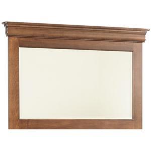 Dresser Mirror with Beveled Edge