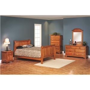 Queen Sleigh Bedroom Group