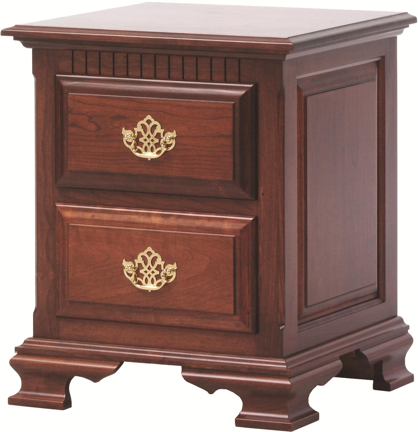 Victorias Tradition Night Stand  by Millcraft at Saugerties Furniture Mart