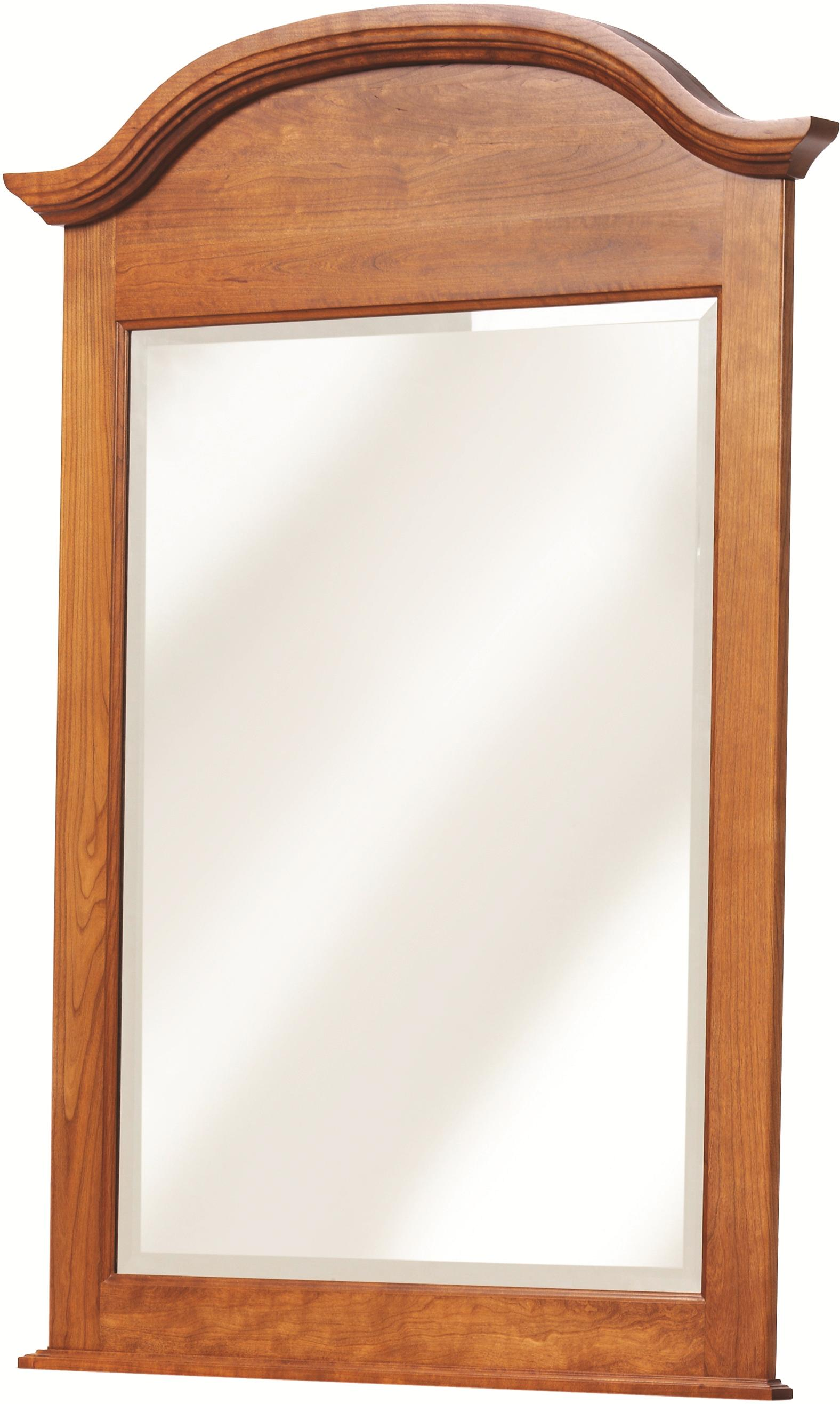 Victorias Tradition Dresser Mirror by Millcraft at Saugerties Furniture Mart