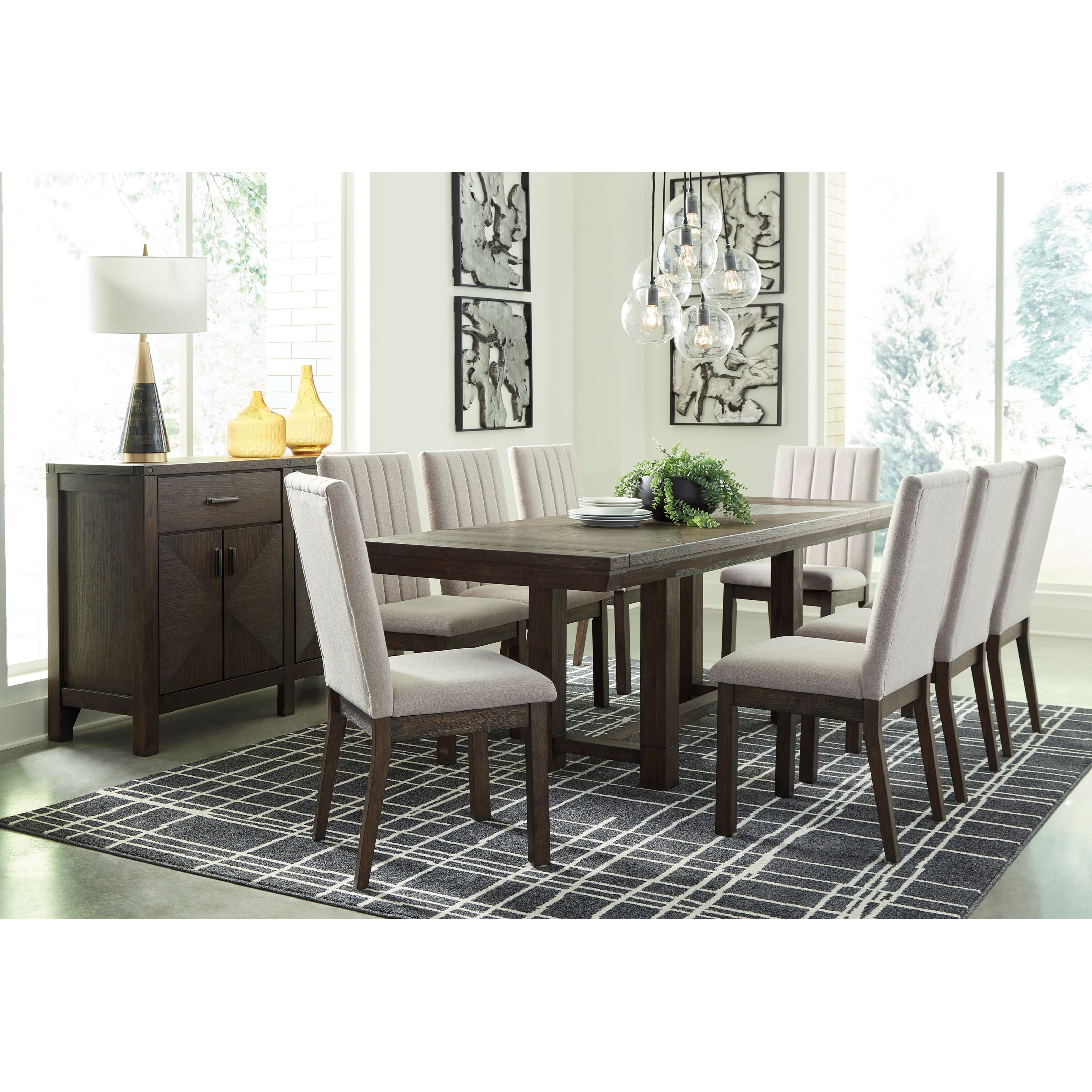 Dellbeck Dining Room Group by Millennium at Northeast Factory Direct