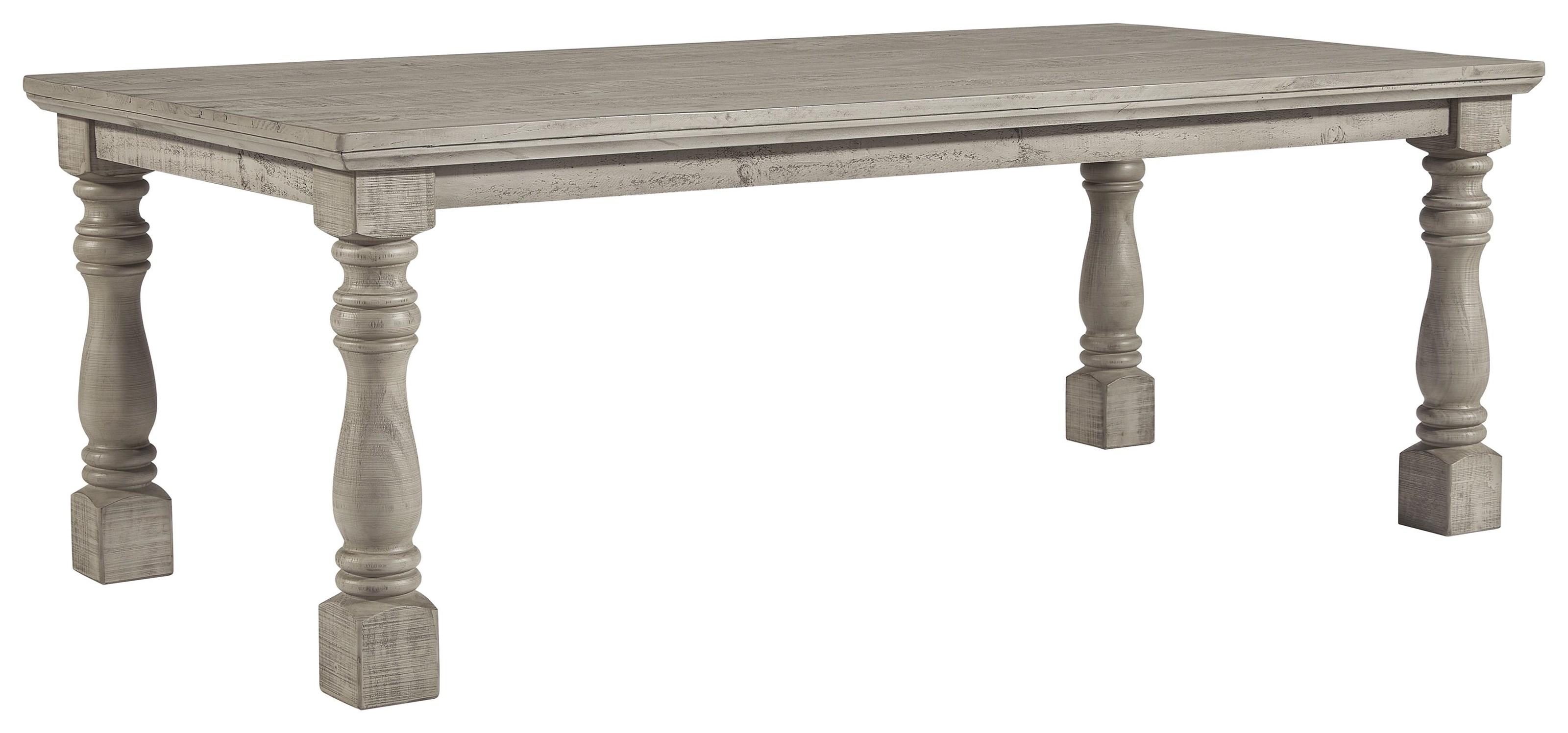 Harrastone Rectangular Dining Table by Millennium at Sam Levitz Outlet