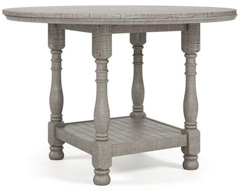 Harrastone Round Counter Height Table by Millennium at Sam Levitz Outlet