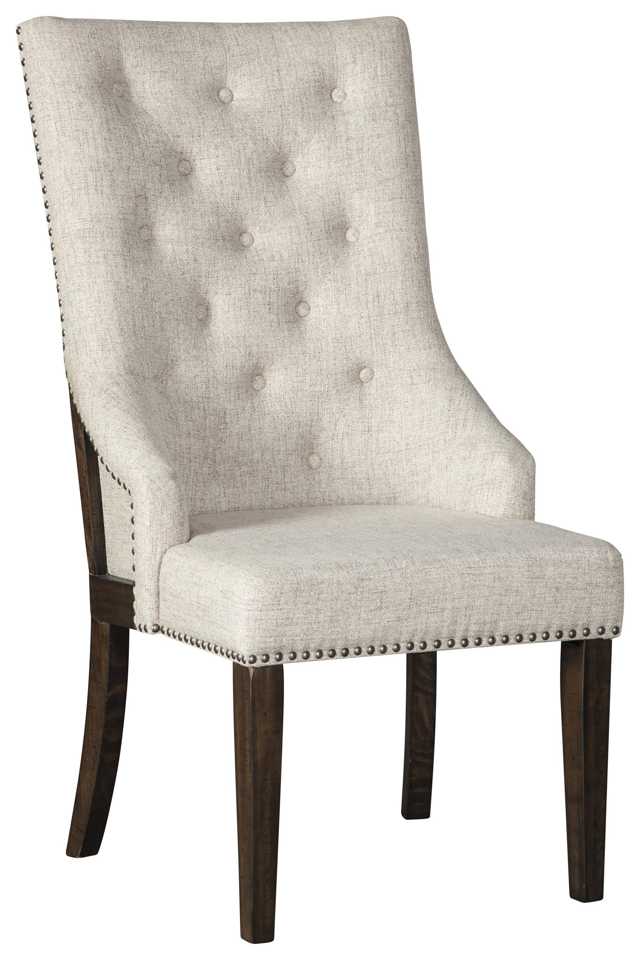 Hillcott Dining UPH Arm Chair by Millennium at Sam Levitz Furniture
