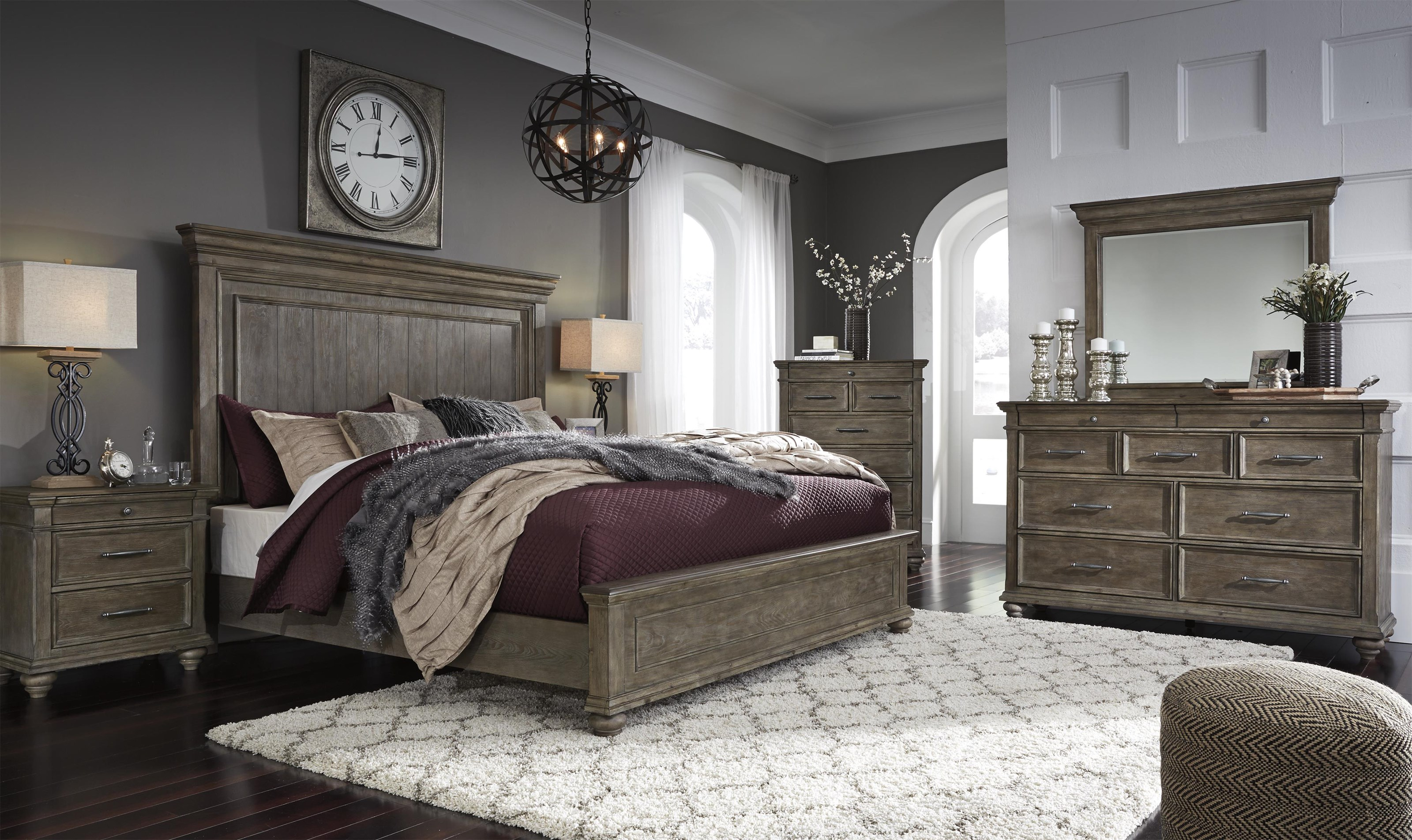 Johnelle Queen Panel Bed Package by Millennium at Sam Levitz Outlet