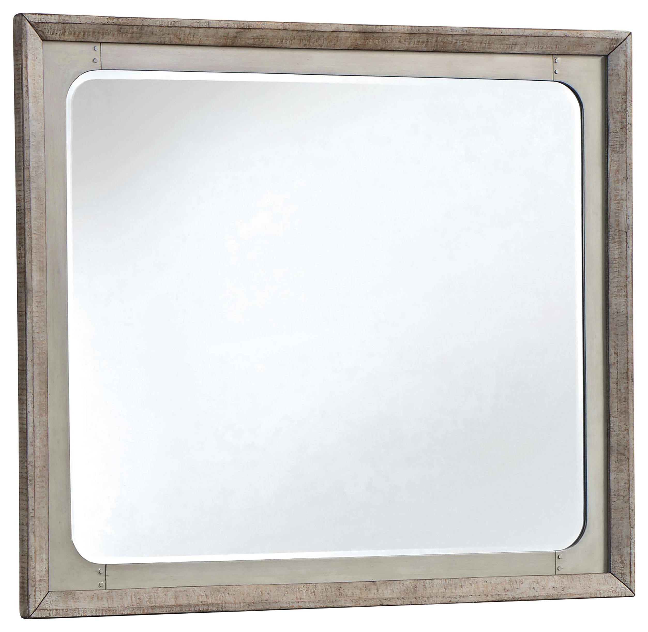 Langford Mirror by Millennium at Sam Levitz Furniture