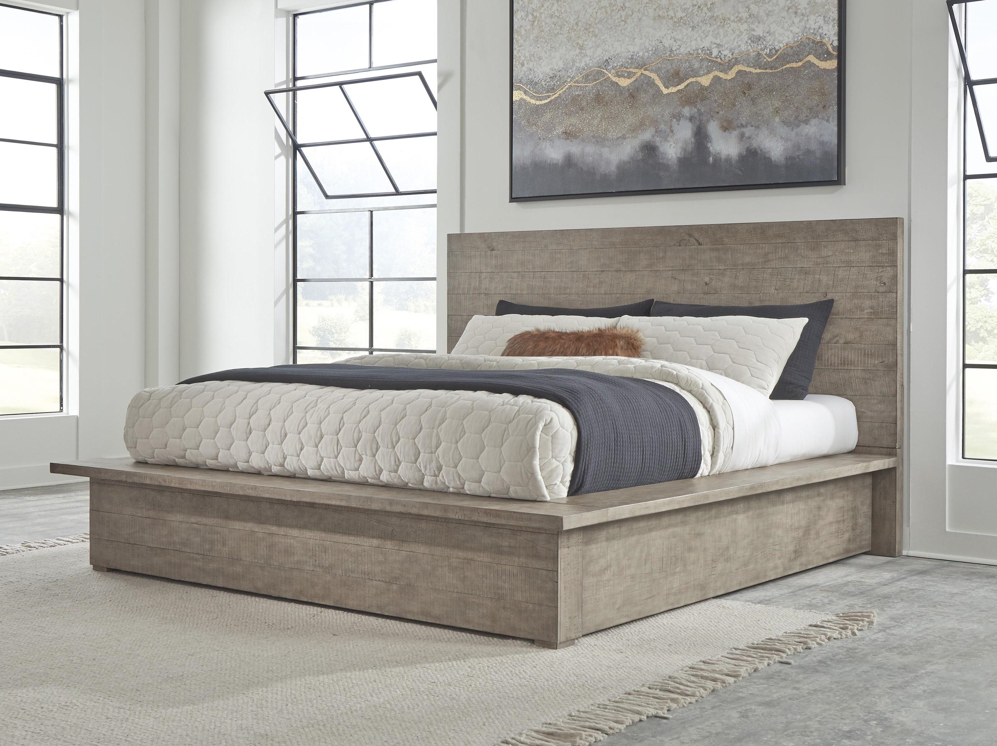 3 Piece Queen Panel Bed