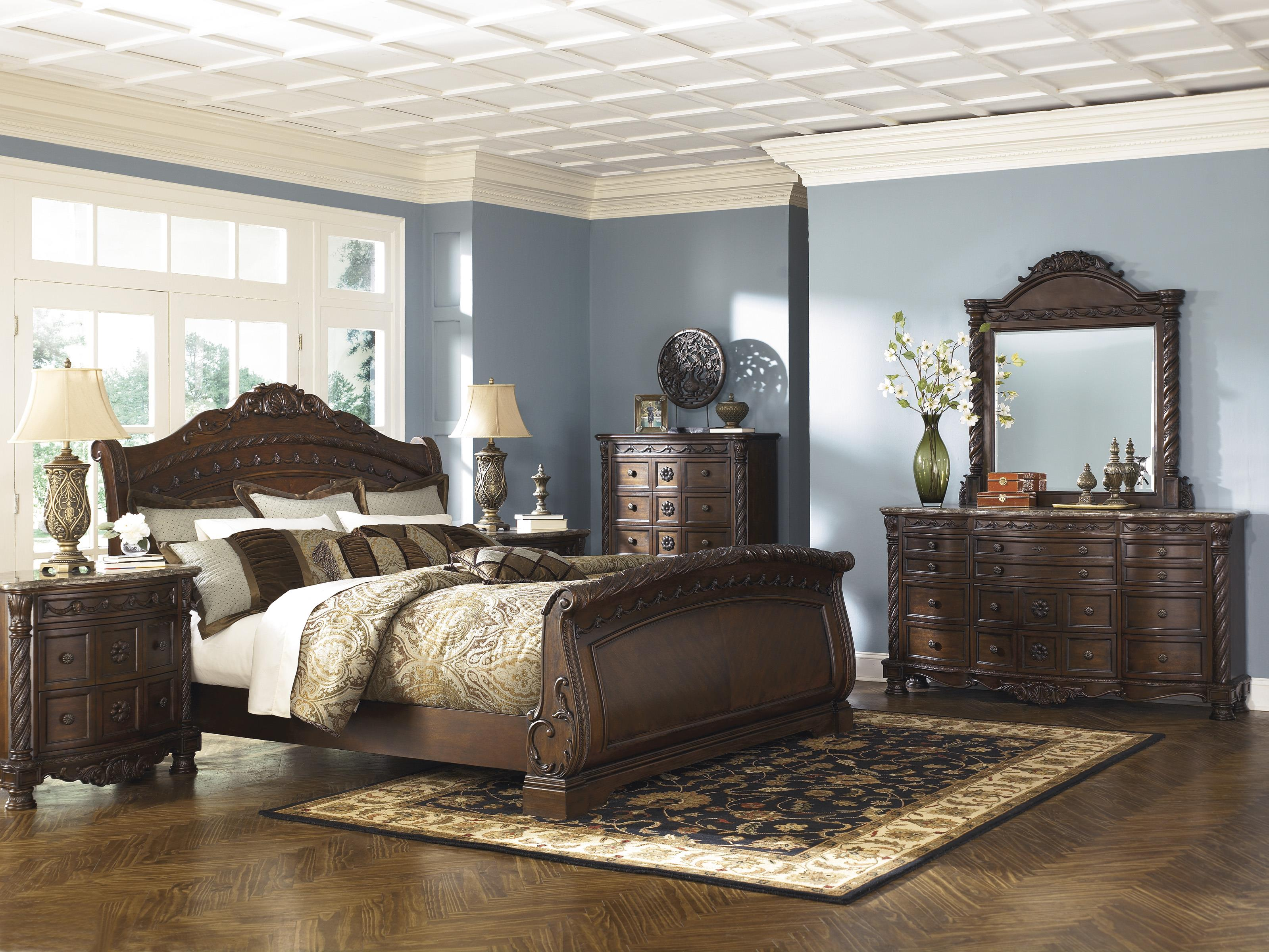 North Shore Queen Bedroom Group by Millennium at Beck's Furniture