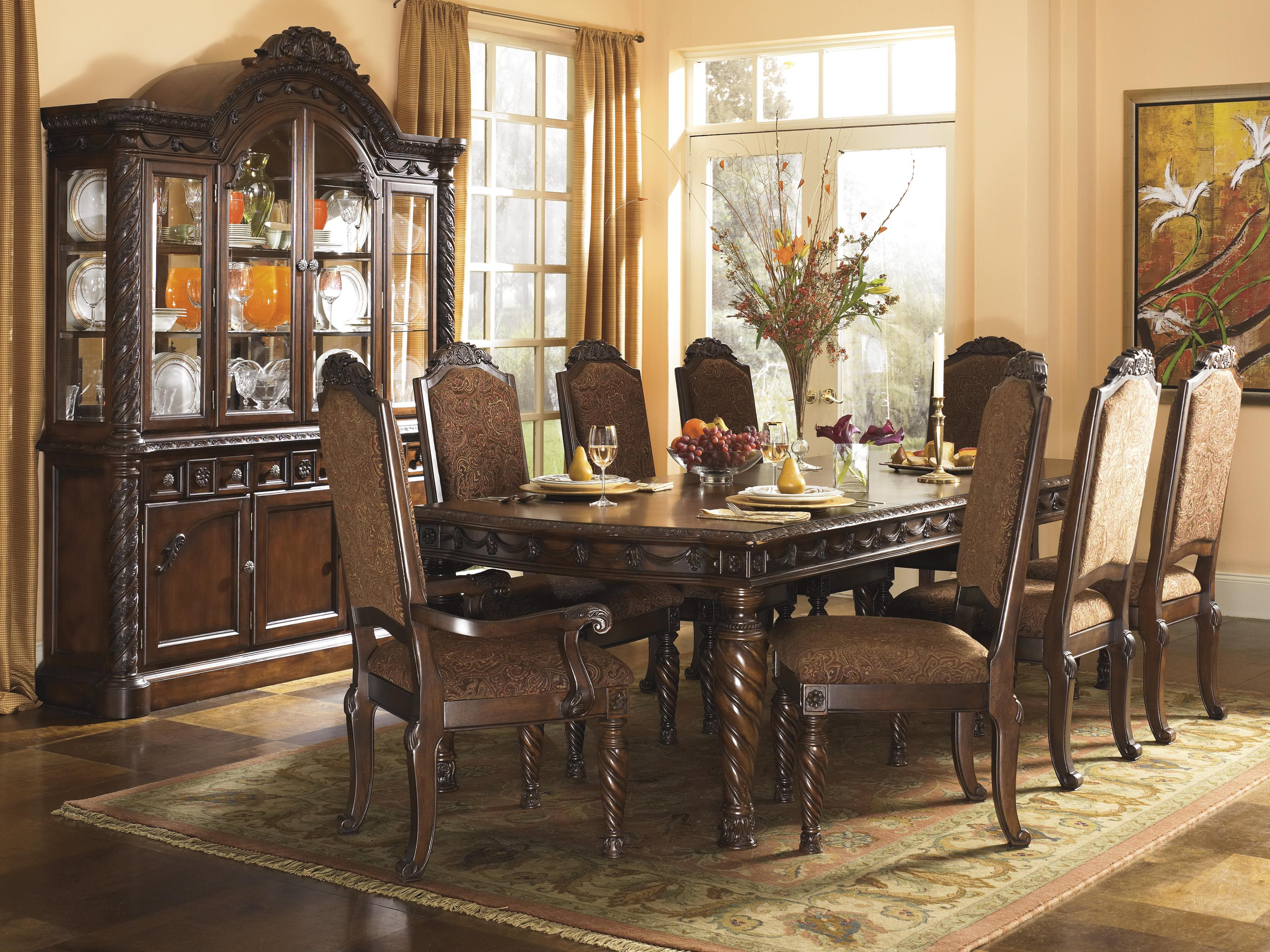 North Shore Formal Dining Room Group by Millennium at Lapeer Furniture & Mattress Center