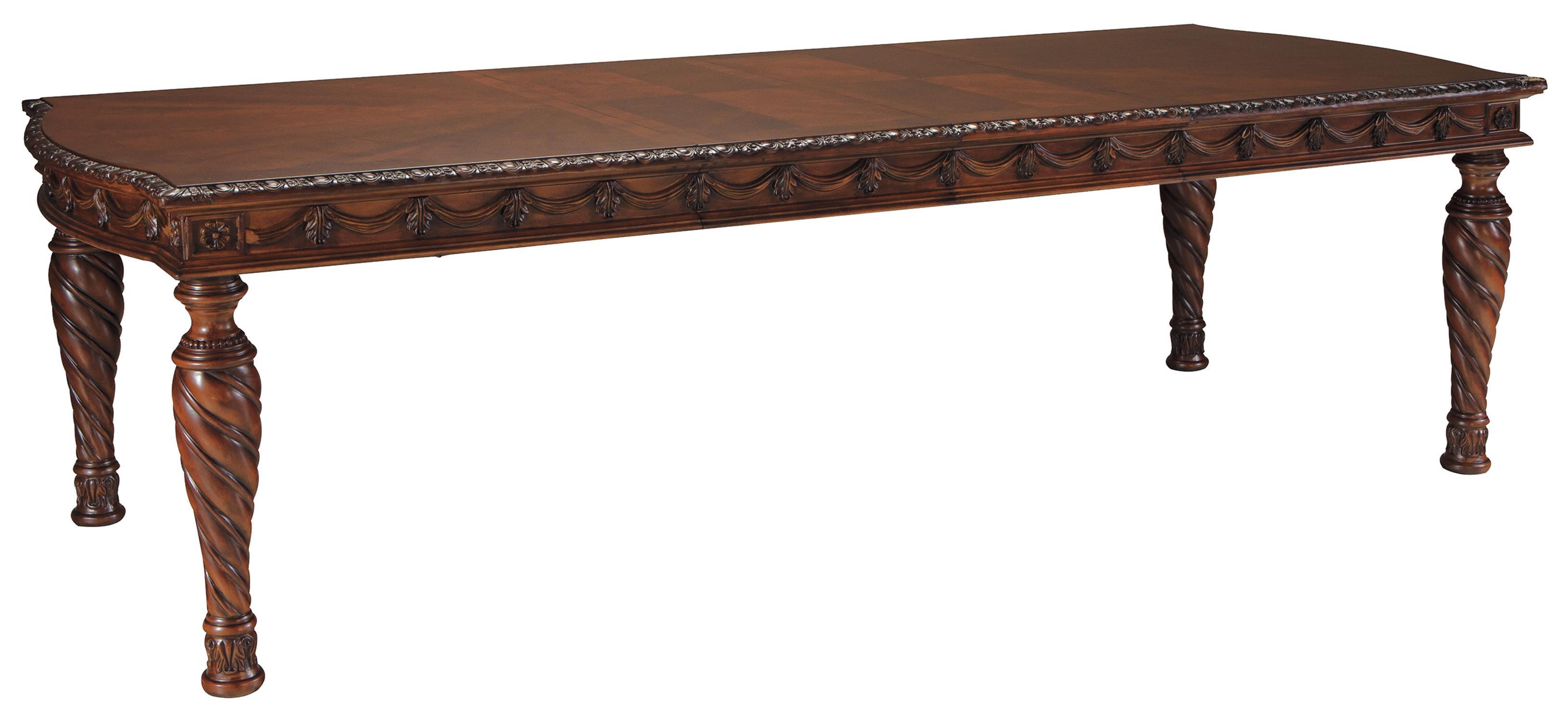 North Shore Rectangular Extension Table by Millennium at Lapeer Furniture & Mattress Center