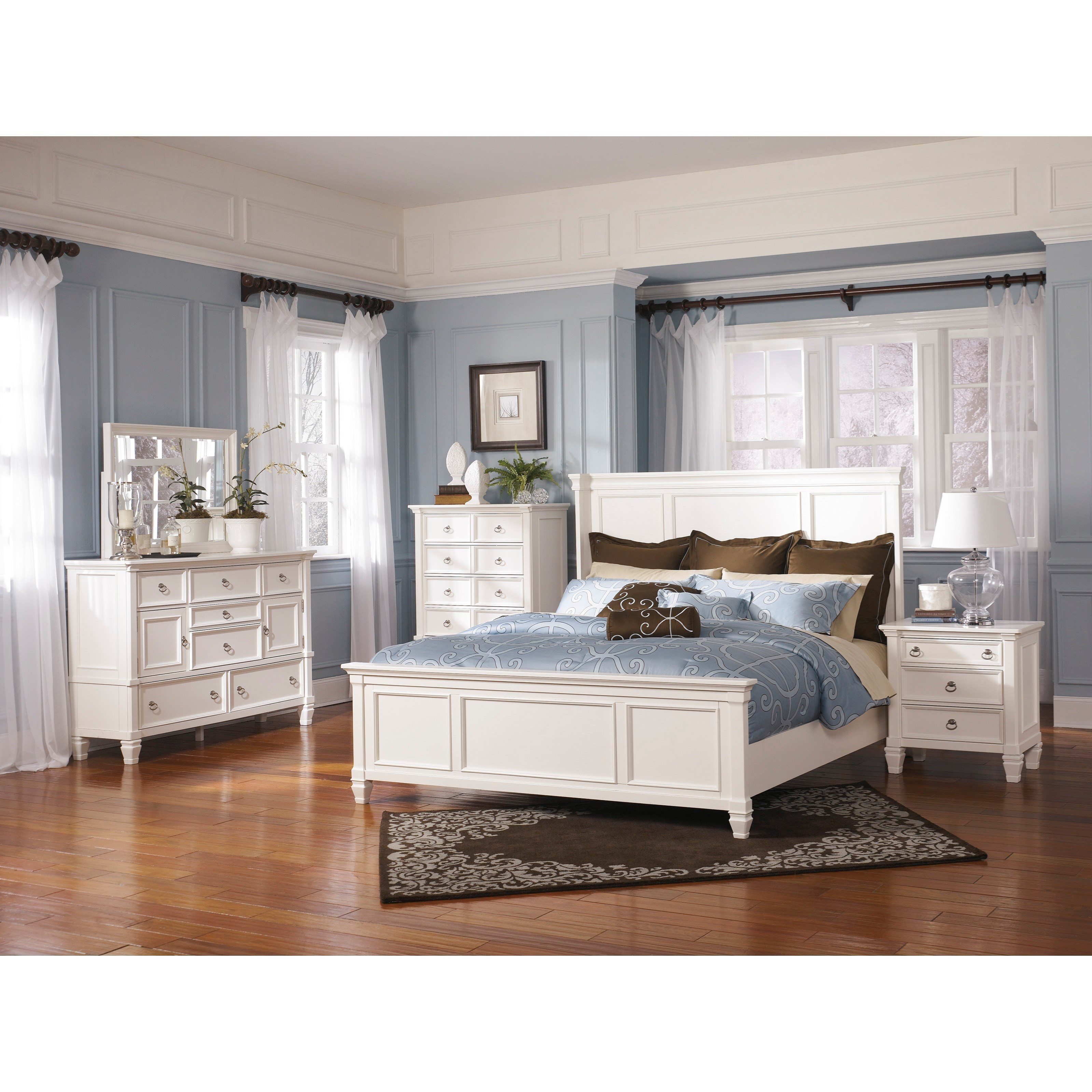 Prentice California Bedroom Group by Millennium at Northeast Factory Direct