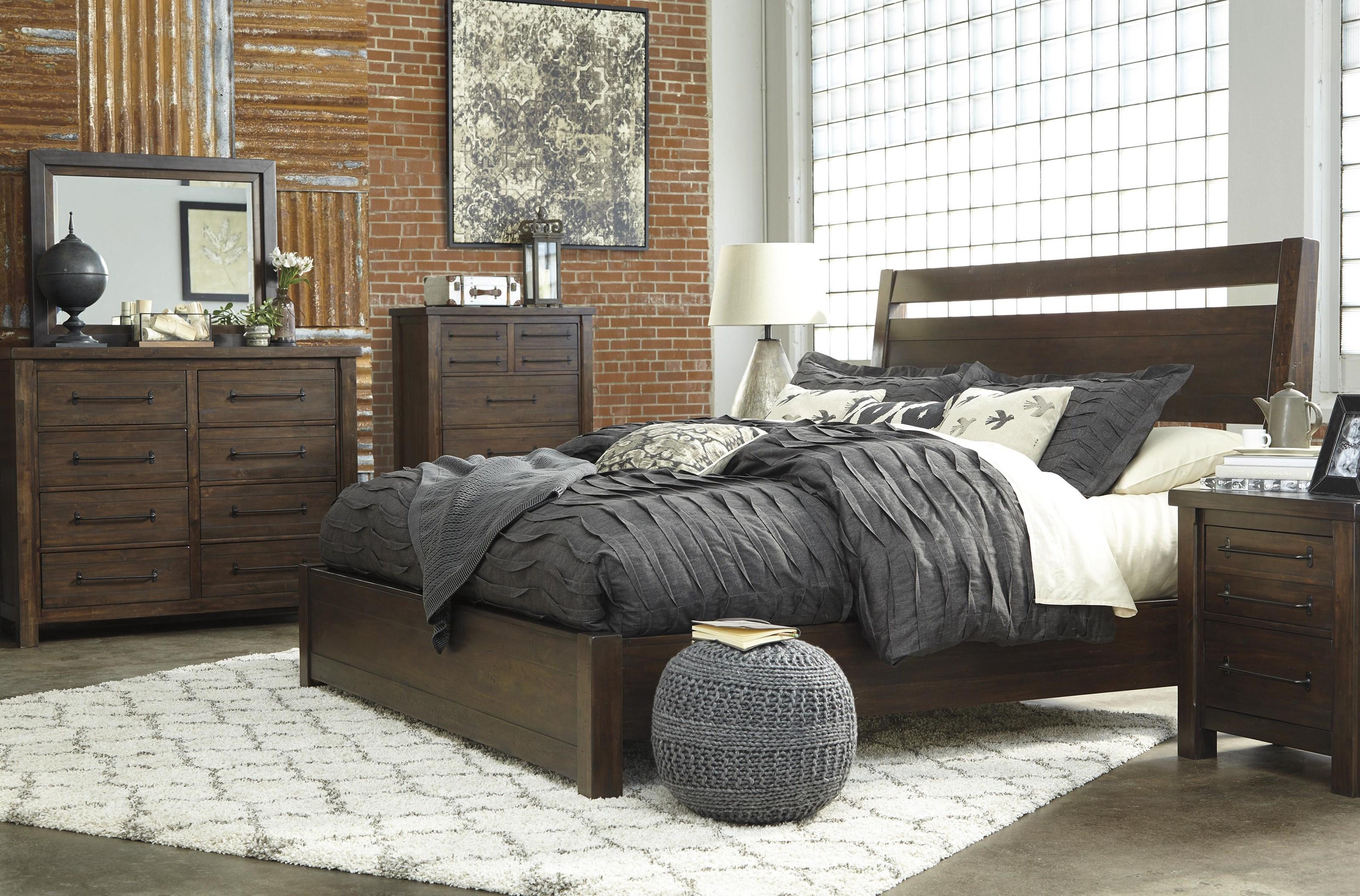 Starmore Queen Platform Bed Package by Millennium at Sam Levitz Furniture