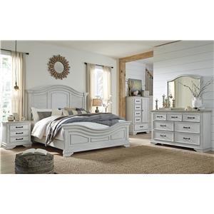 5 Piece Queen Panel Bedroom Set