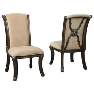 Traditional Dining Upholstered Side Chair