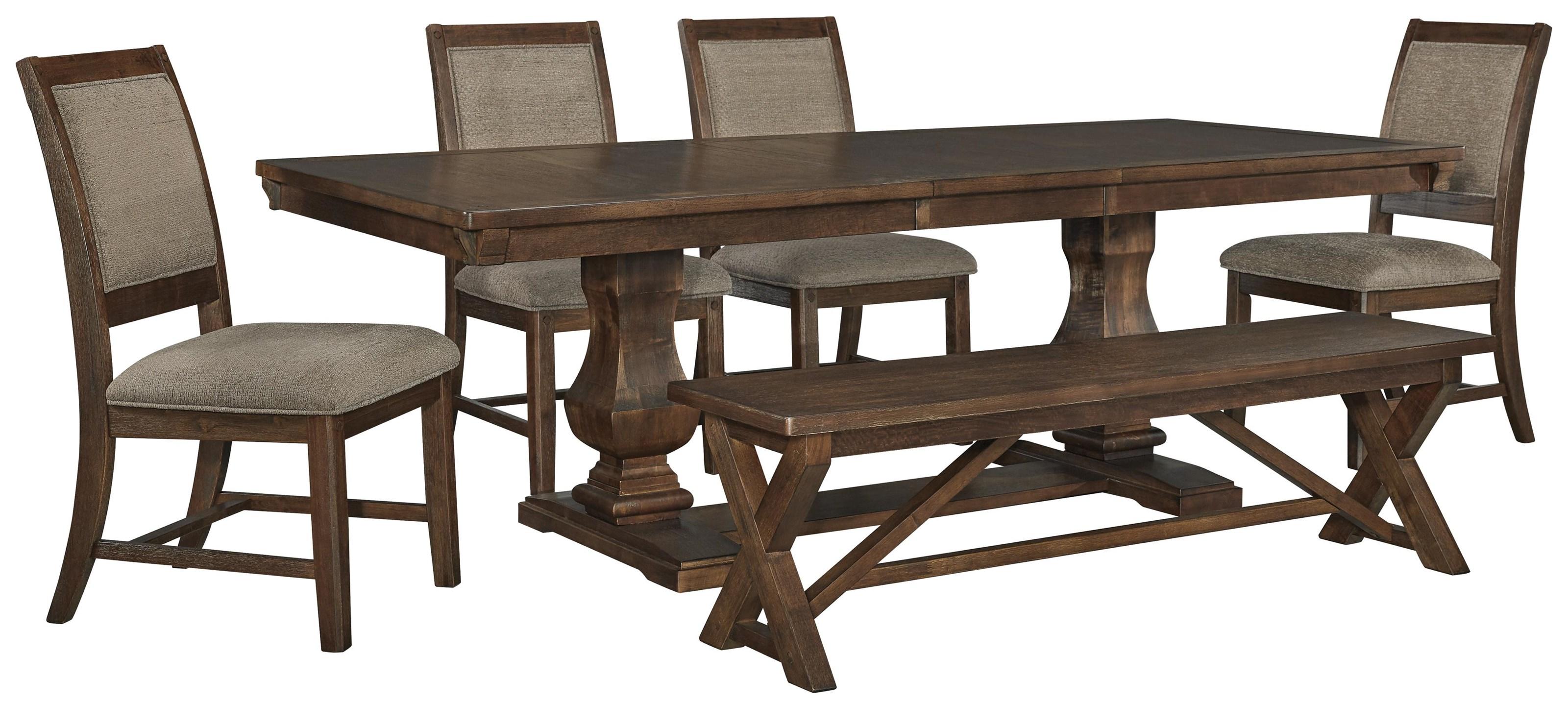 Windville 7 PC Dining Room Set by Millennium at Sam Levitz Furniture