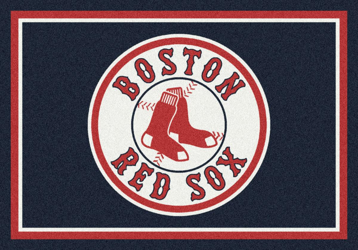 Team Spirit 2.8' x 3.1' Red Sox Area Rug at Rotmans
