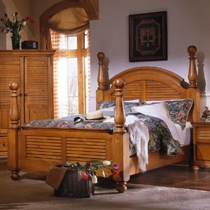 Brazil Furniture Group Irish Countryside Poster Bed