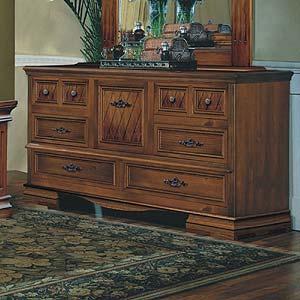 Brazil Furniture Group Rome Door Triple Dresser