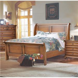 Brazil Furniture Group Sunderland Queen Sleigh Bed