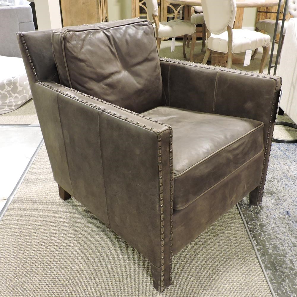 Clearance Leather Accent Chair at Belfort Furniture