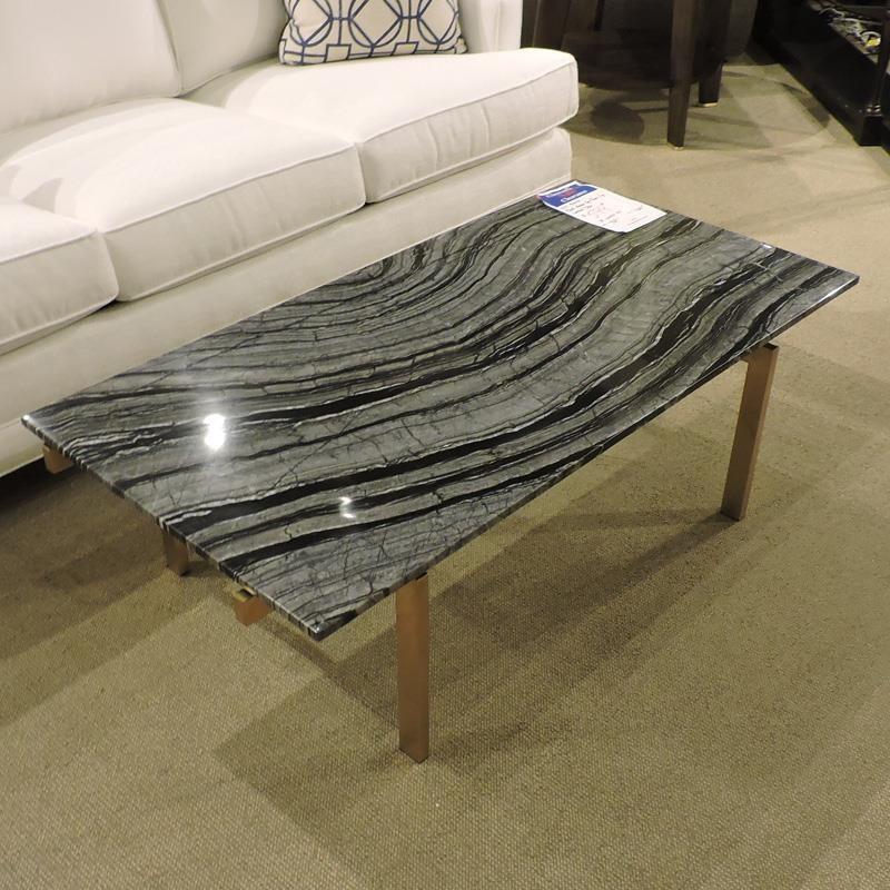 Clearance Black Marble Top / Brass Leg at Belfort Furniture