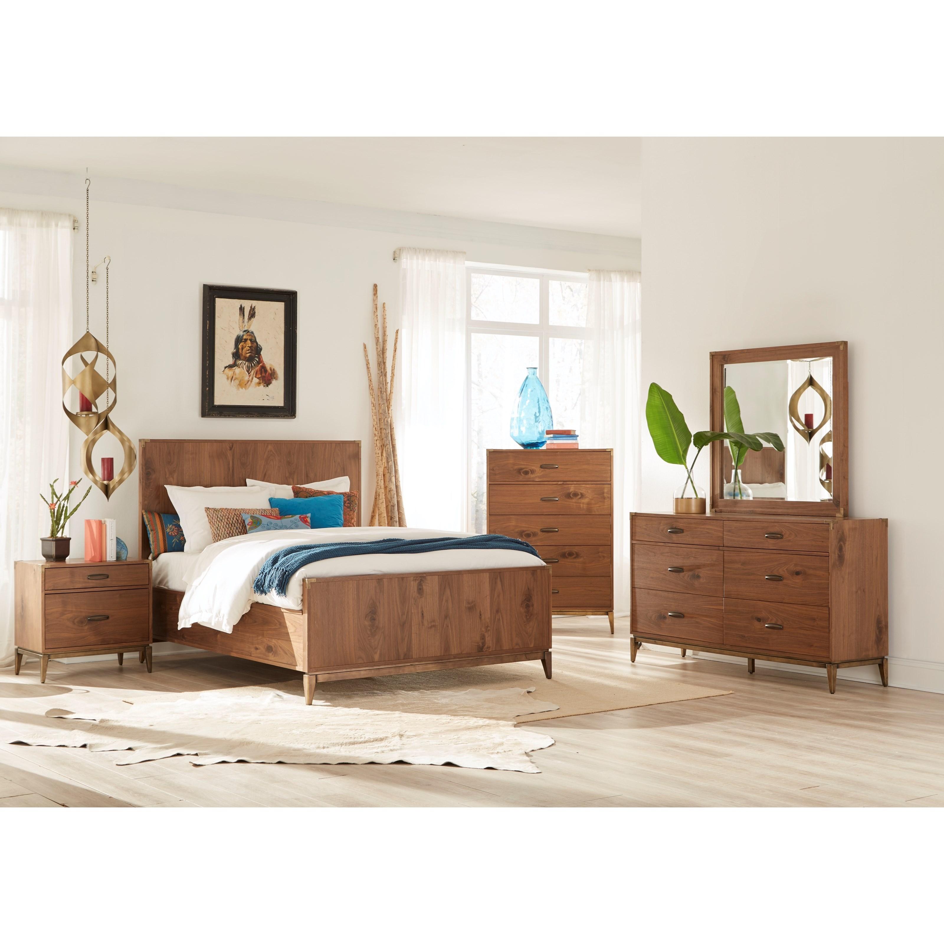 Adler Queen Bedroom Group by Modus International at A1 Furniture & Mattress