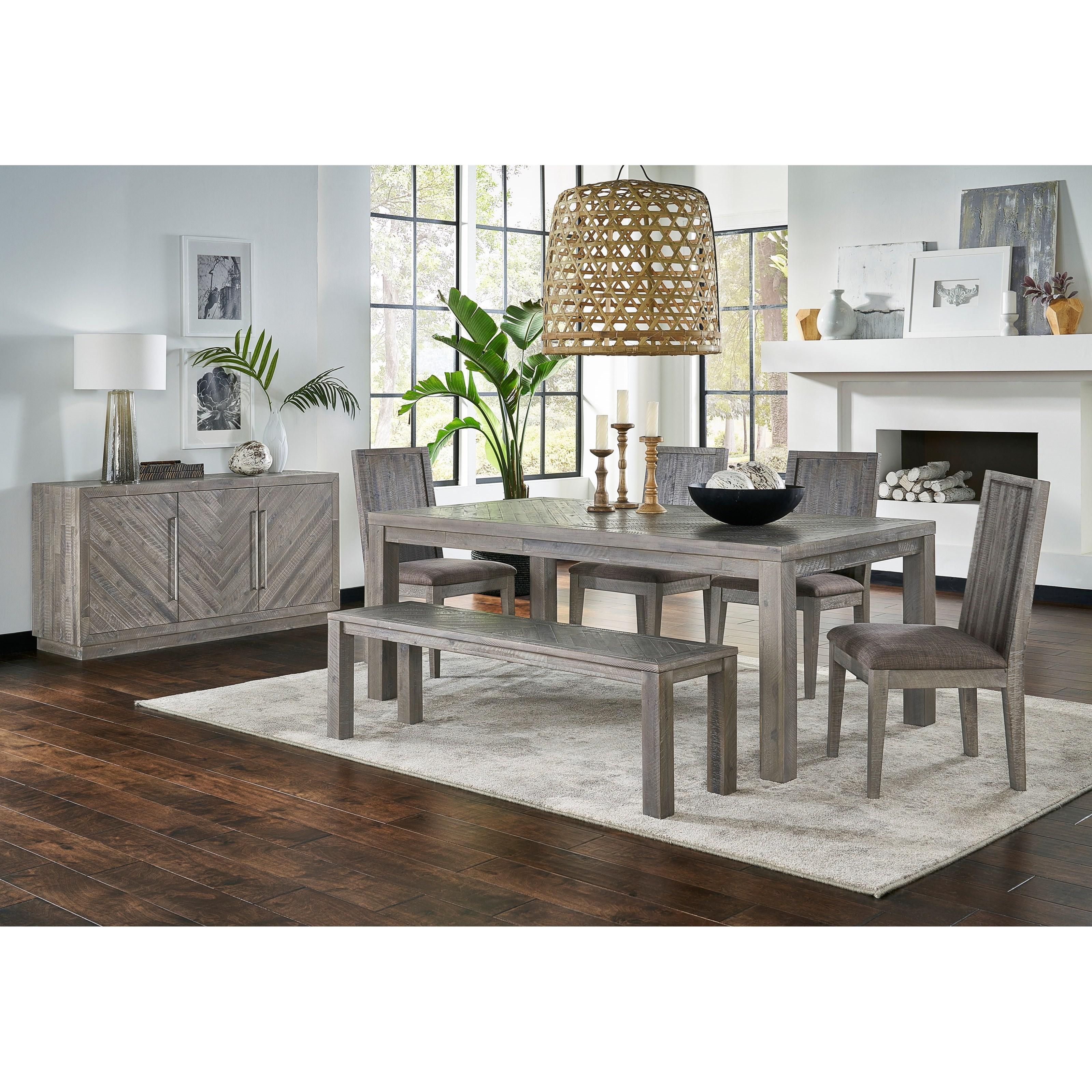 Alexandra Formal Dining Room Group by Modus International at A1 Furniture & Mattress
