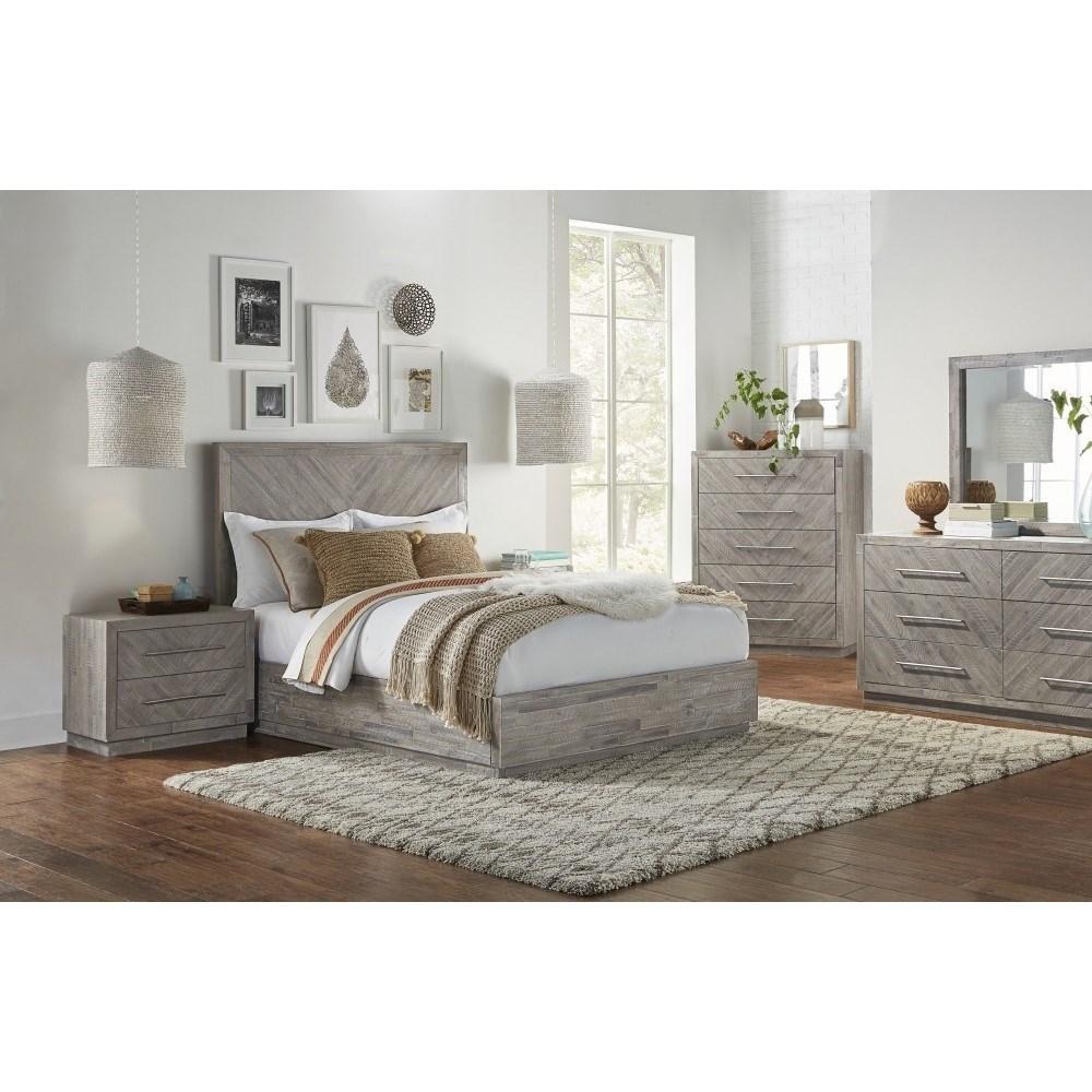 Alexandra California King Bedroom Group by Modus International at A1 Furniture & Mattress