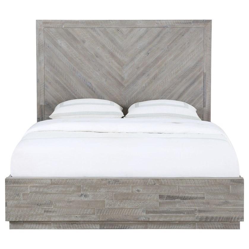 Alexandra King Platform Bed by Modus International at A1 Furniture & Mattress
