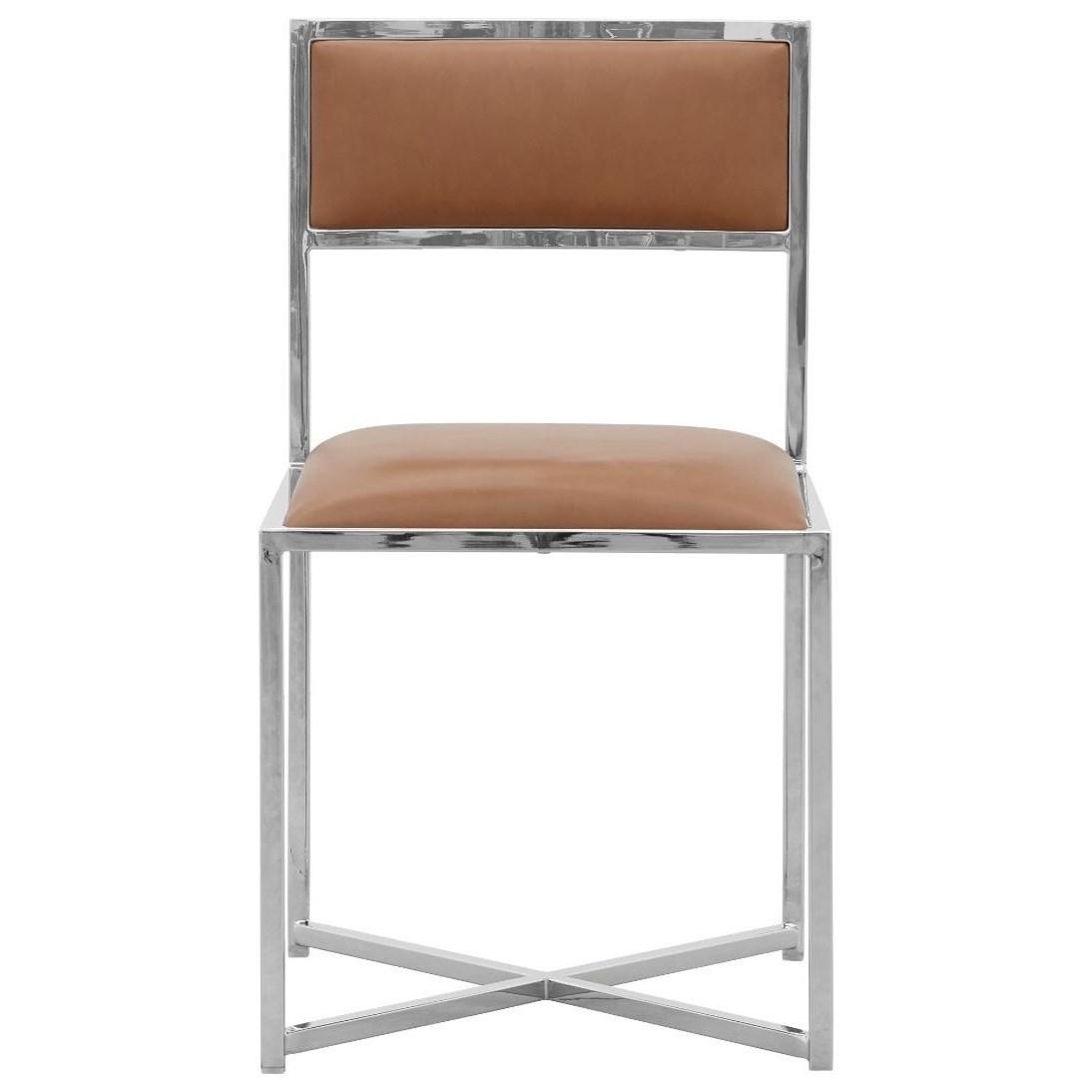 X-Base Chair in Cognac