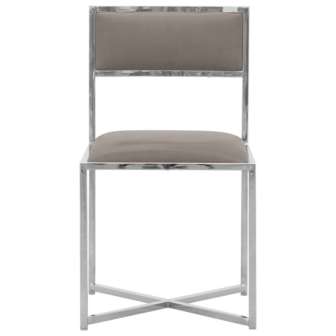 X-Base Chair in Taupe