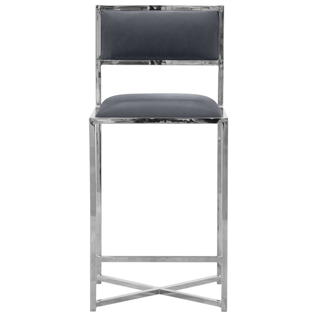X-Base Counter Stool in Cobalt