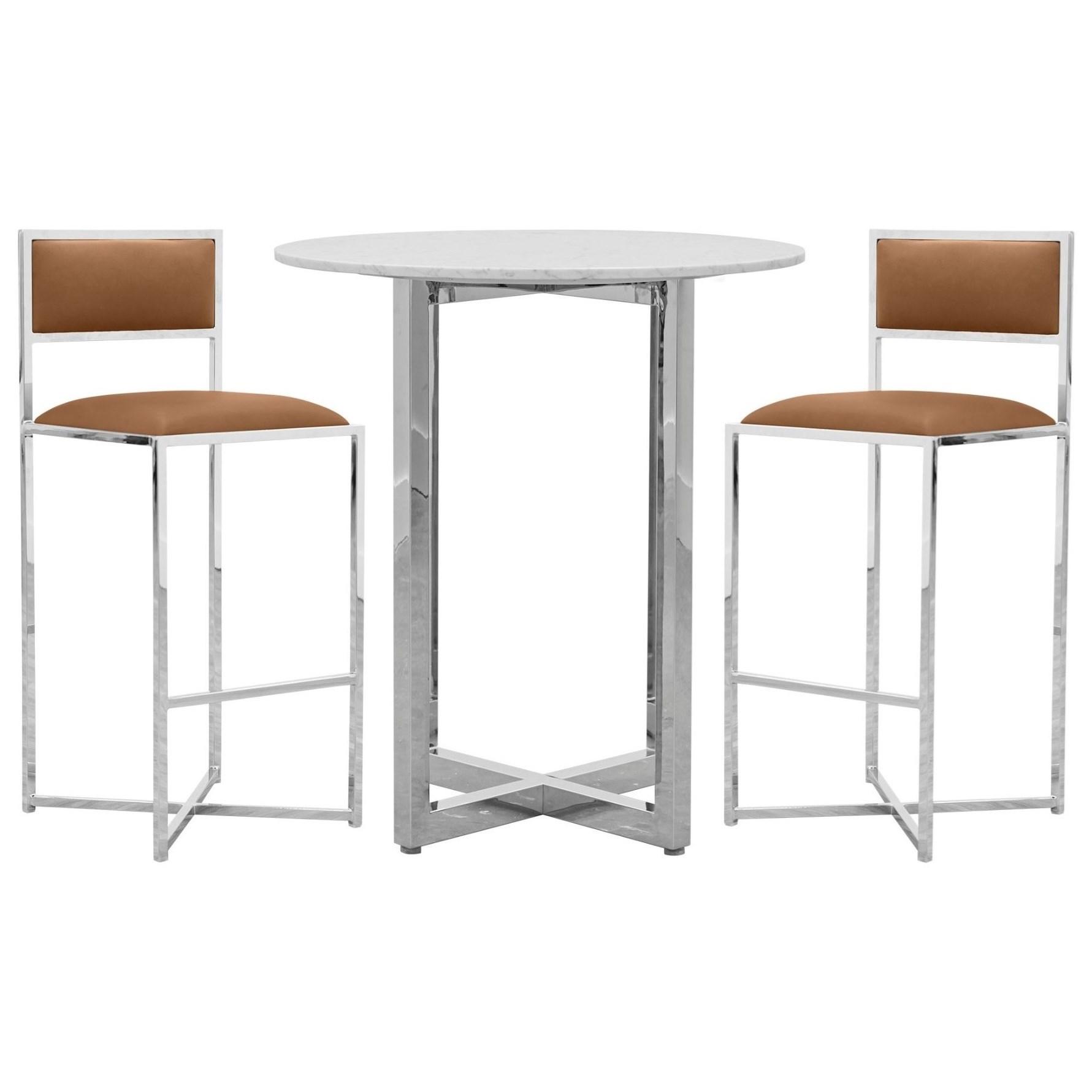 3-Piece Bar Table Set